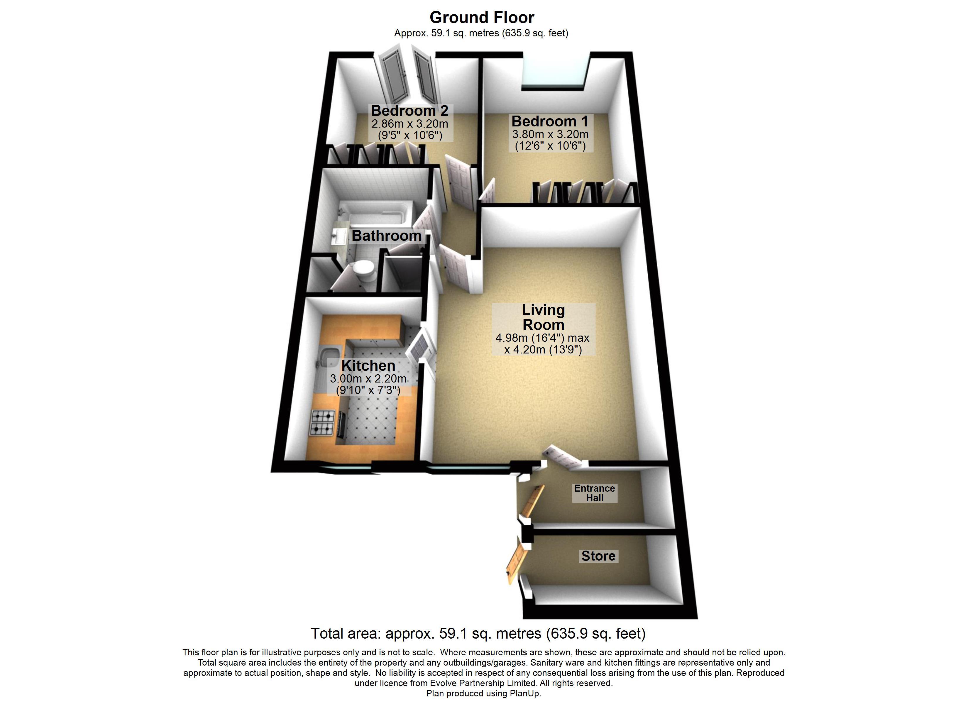 12 Ilford Court Floorplan