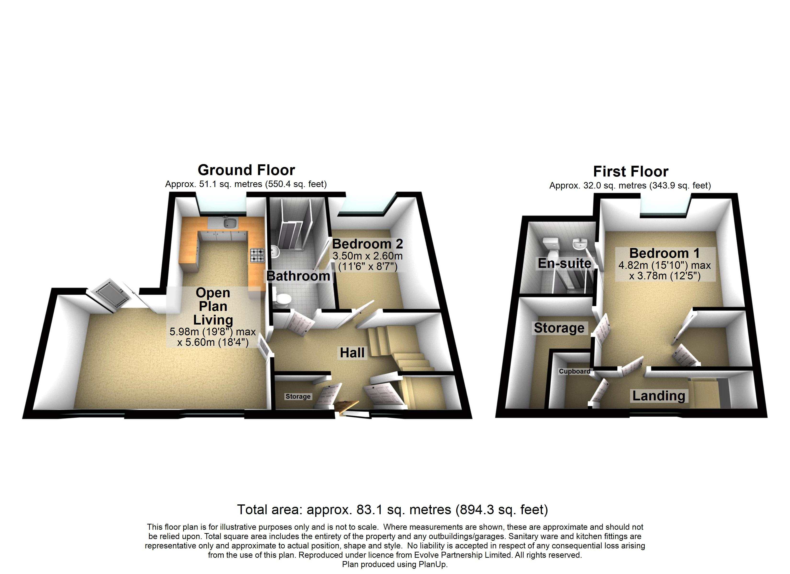New Build, The Martingale - 1 Cowdray Close Floorplan