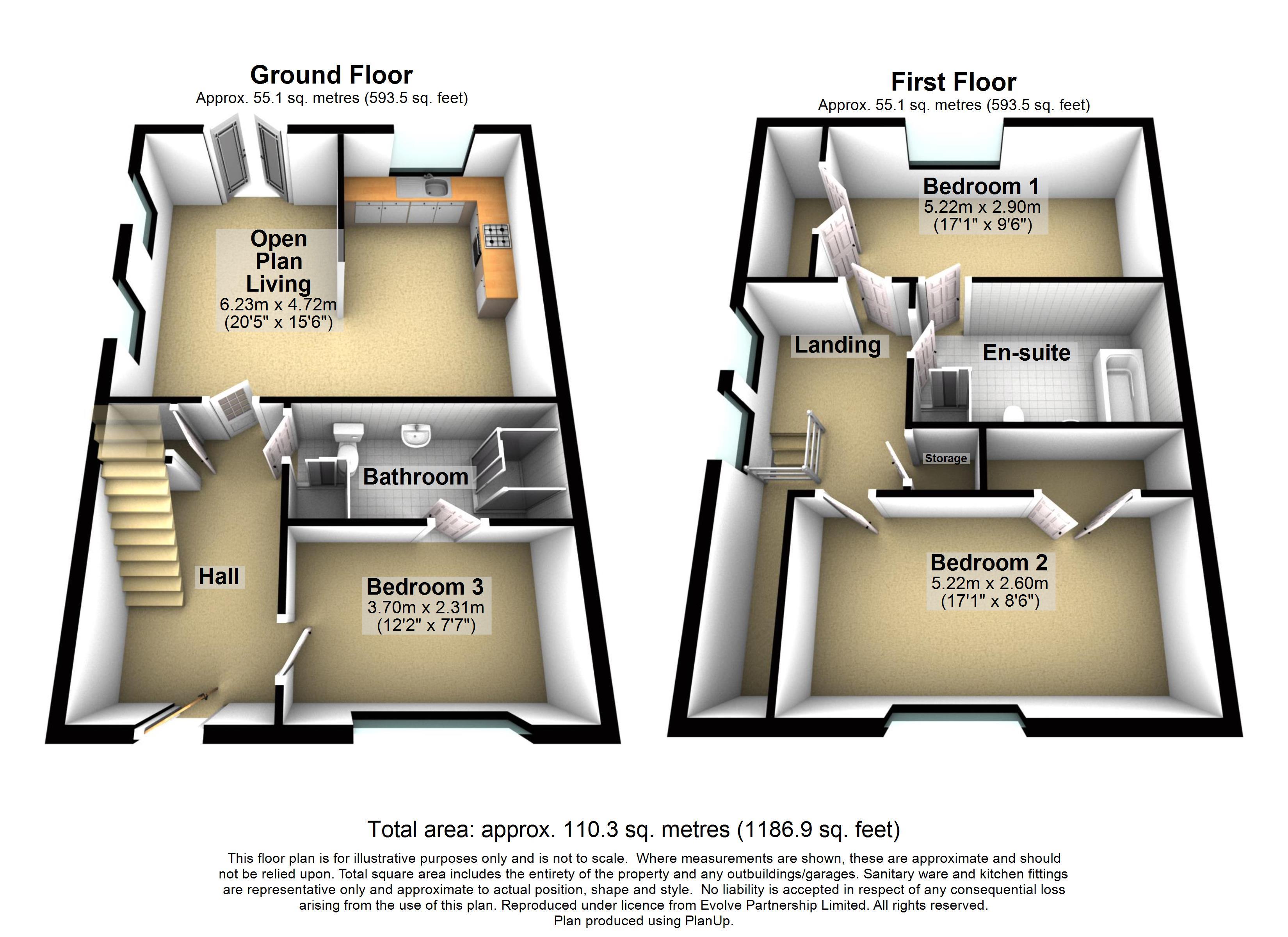 New Build, The Pelham - 13 Cowdray Close Floorplan