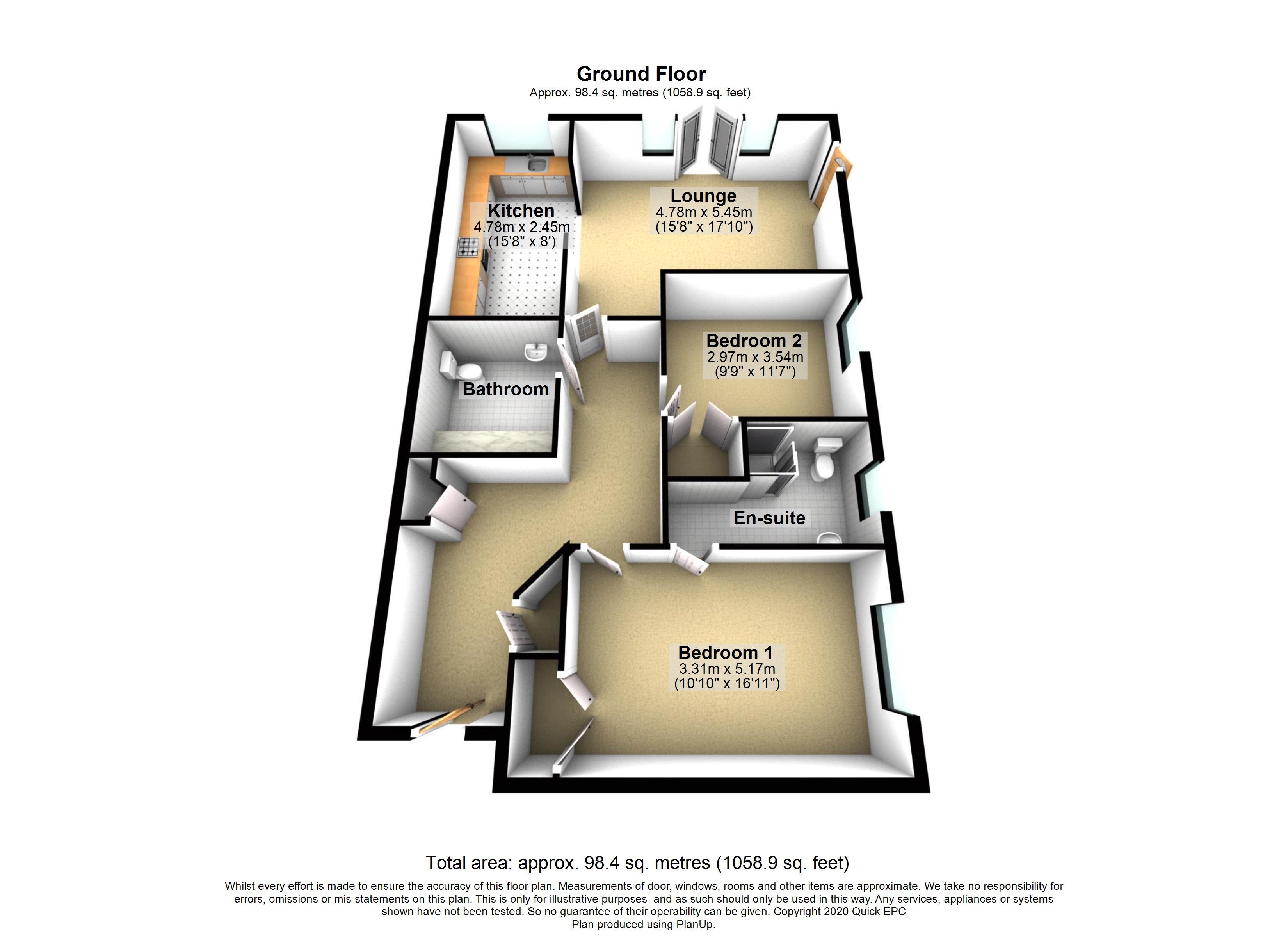 8 The Fairways Floorplan