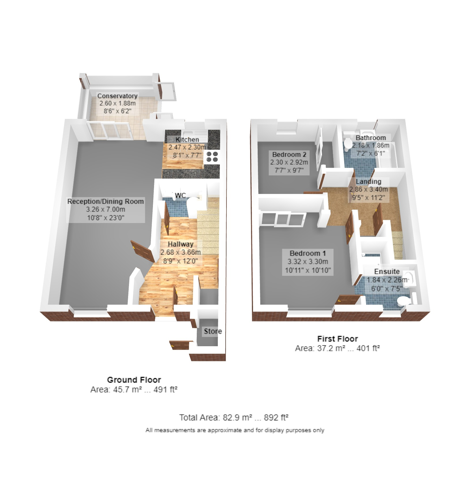 6 Cedars Walk Floorplan