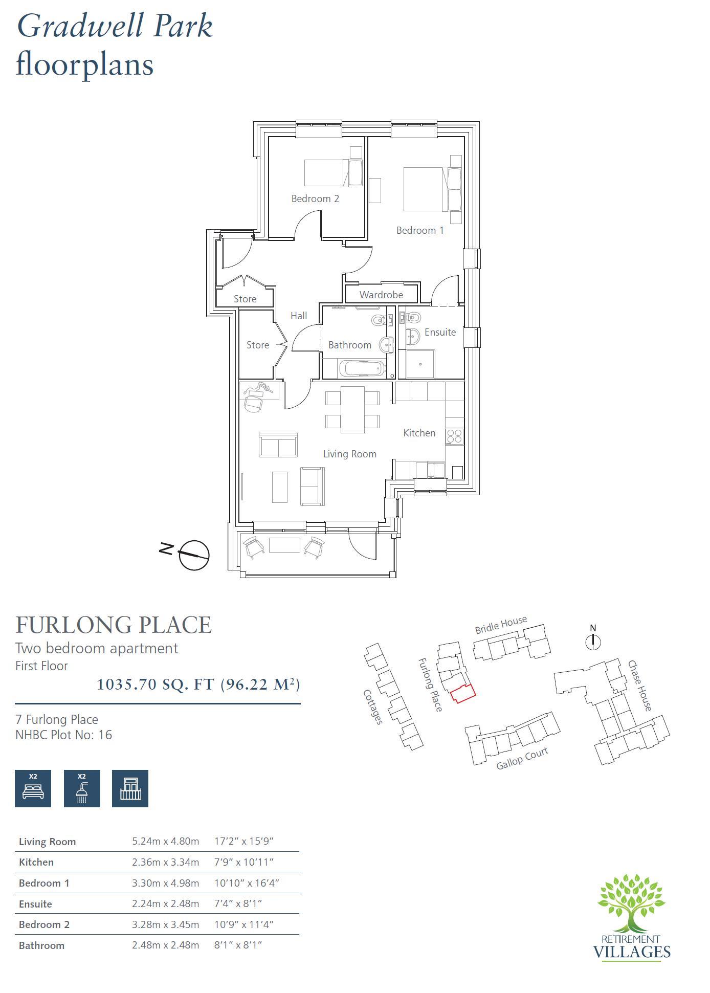 New Build, 7 Furlong Place Floorplan