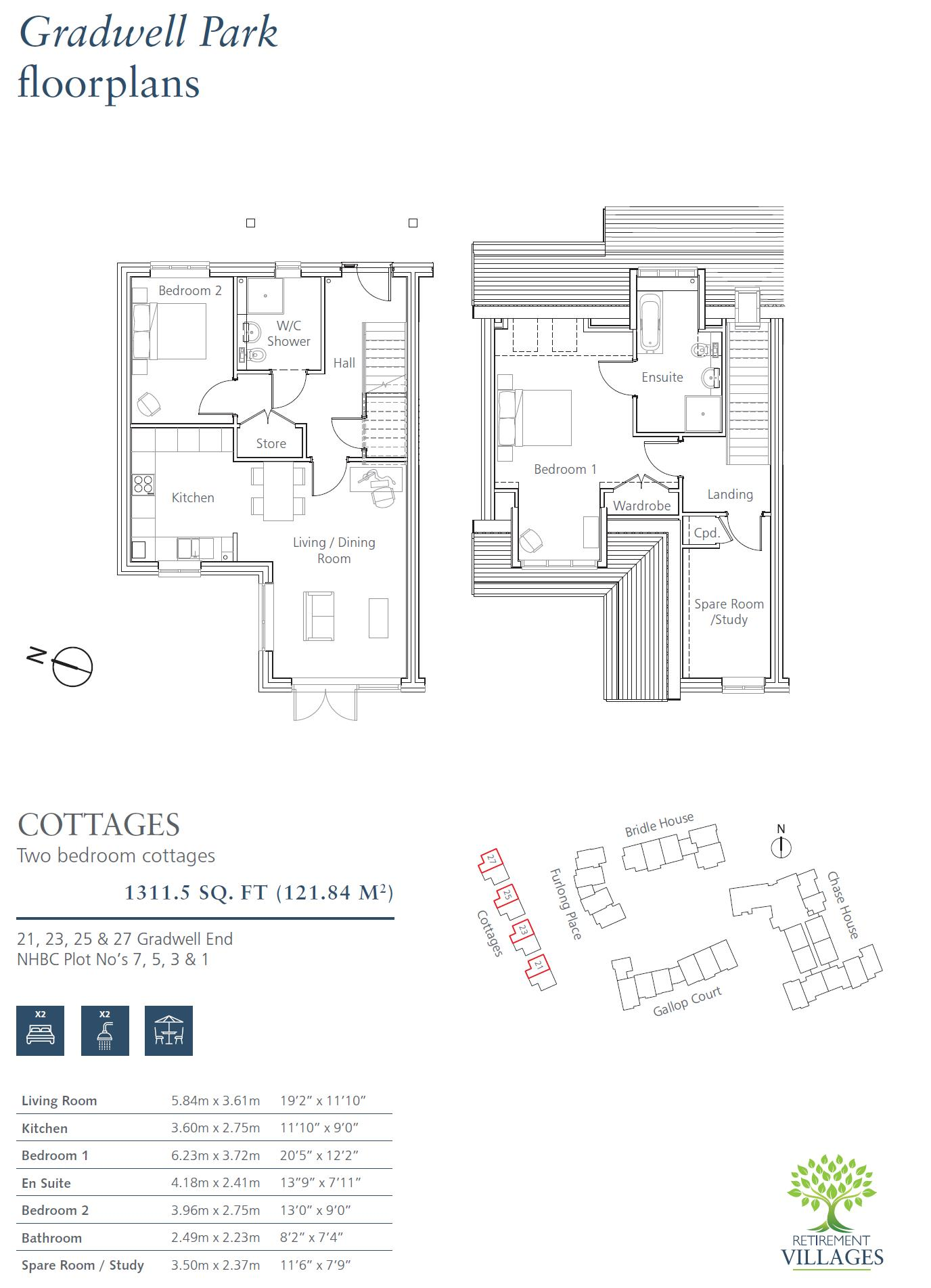 New Build, 23 Gradwell End Floorplan
