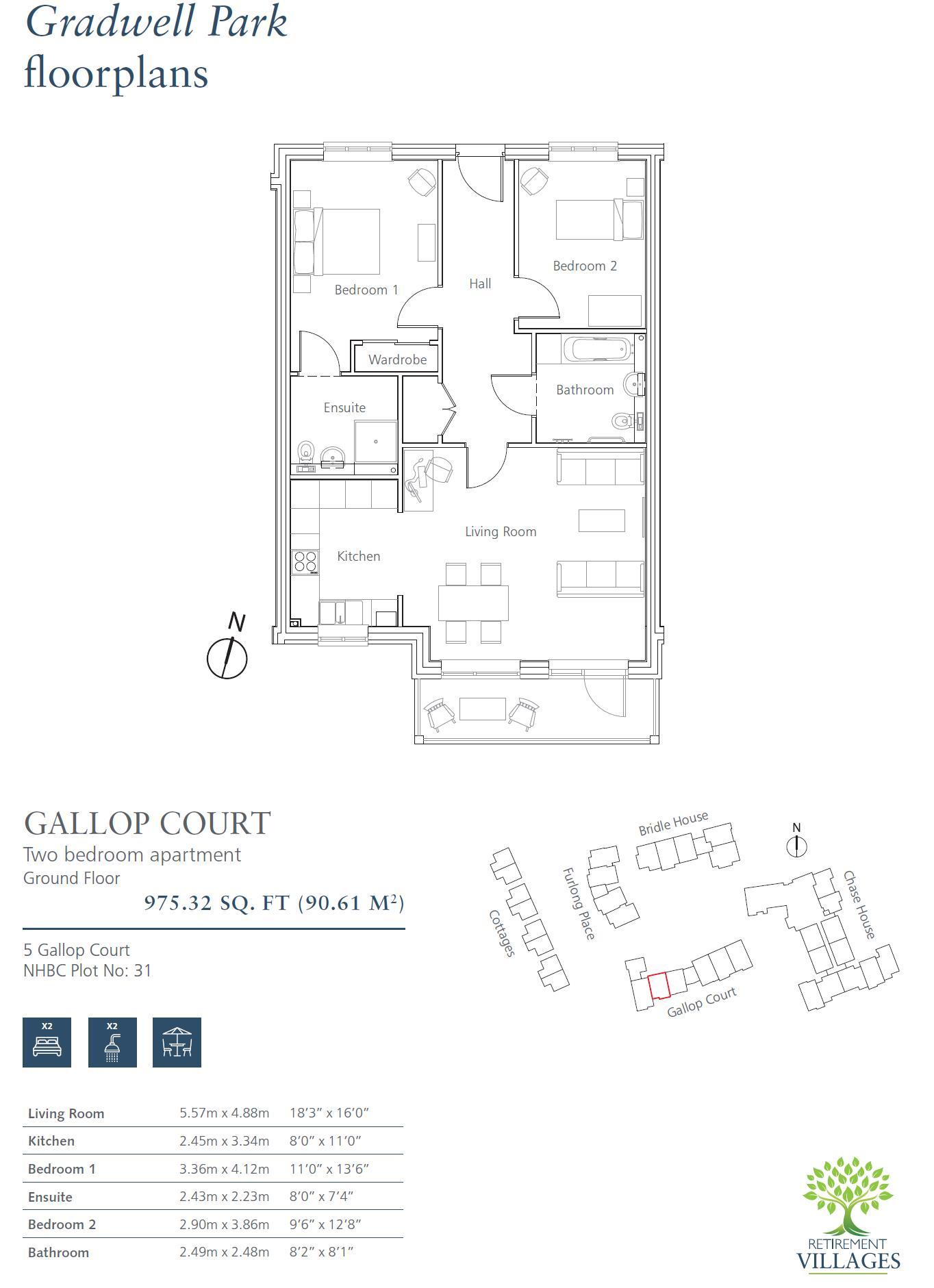 New Build, 5 Gallop Court Floorplan