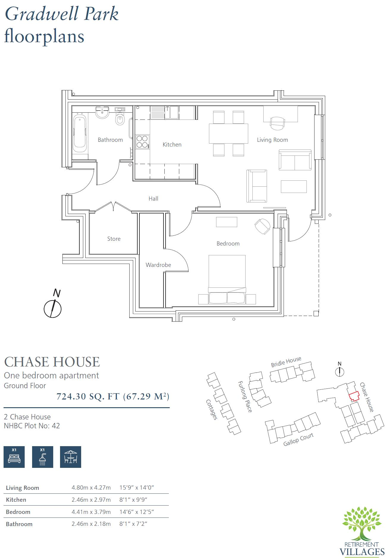 New Build, 2 Chase House Floorplan