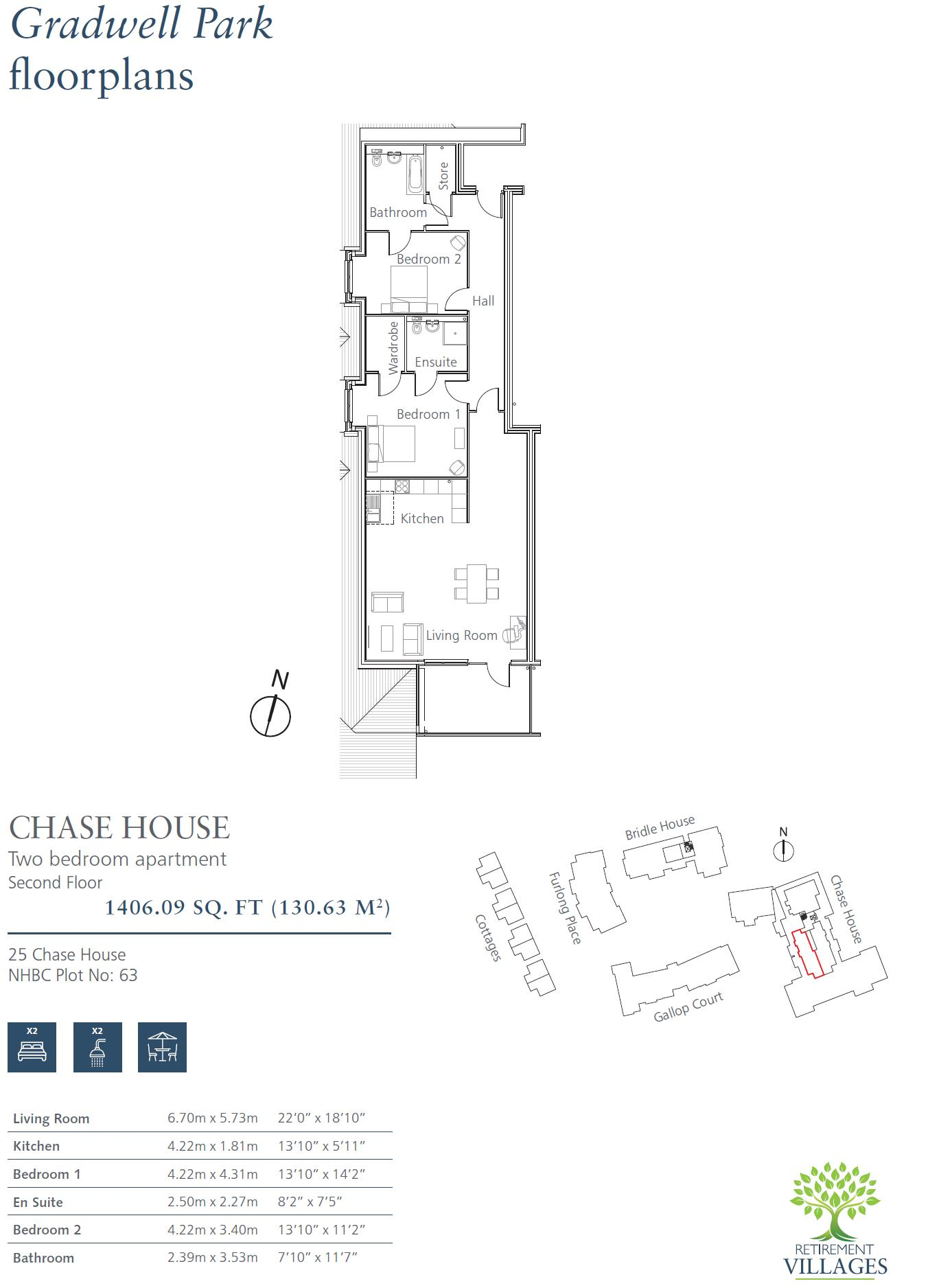 New Build, 25 Chase House Floorplan