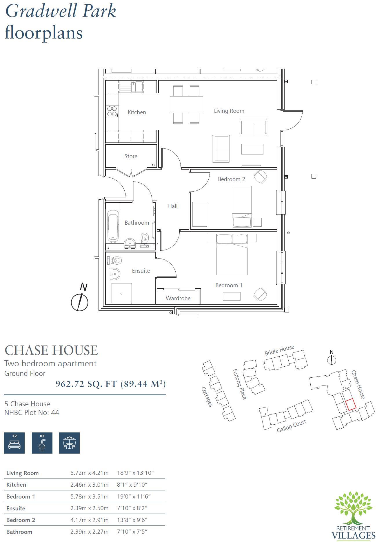 New Build, 5 Chase House Floorplan