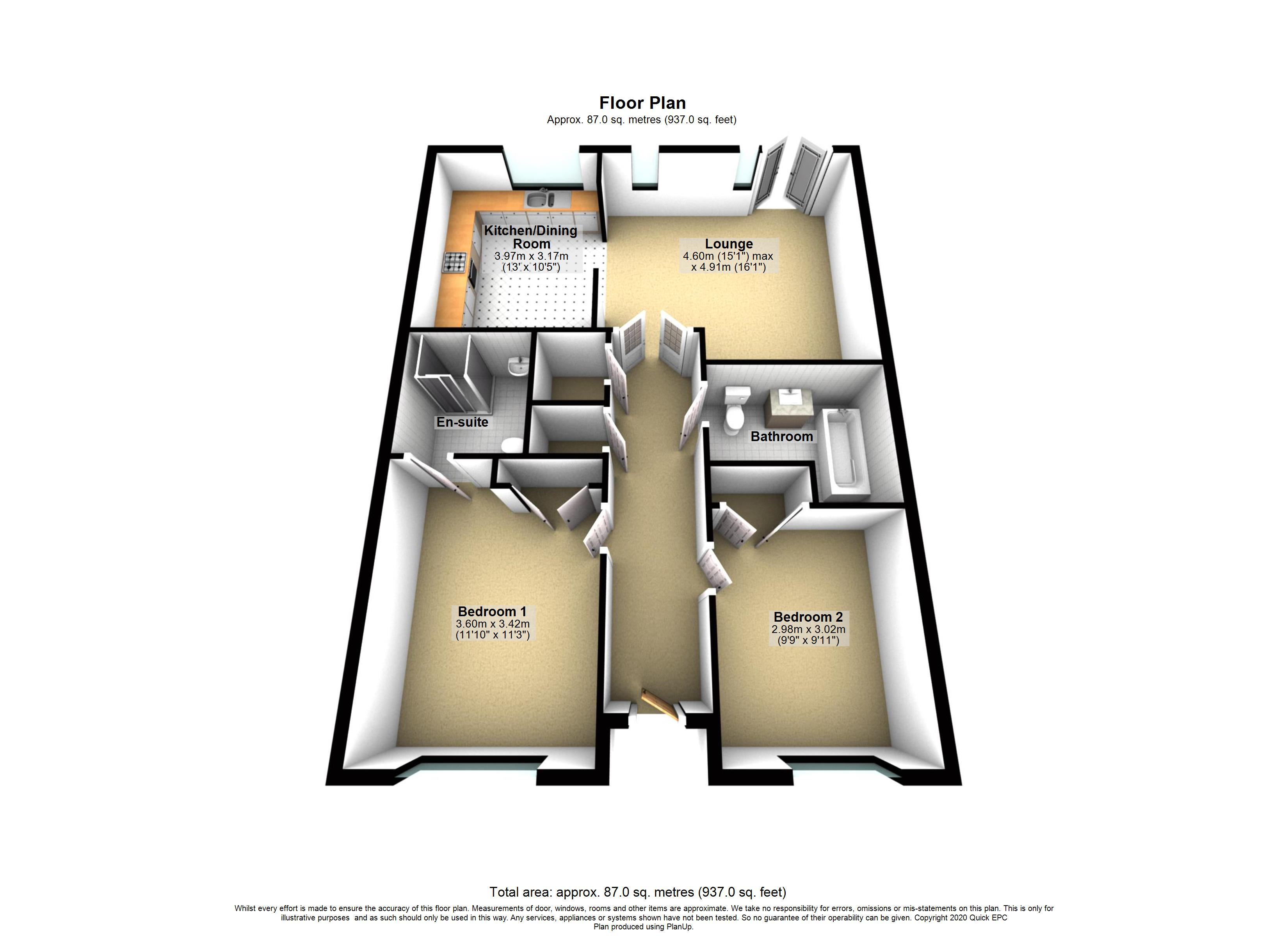 6 The Fairways Floorplan