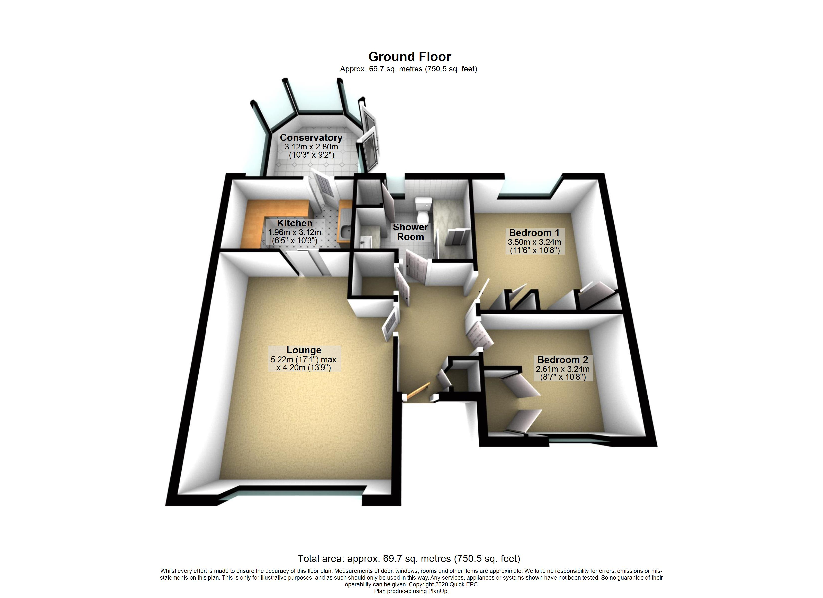 2 Abbey Close Floorplan