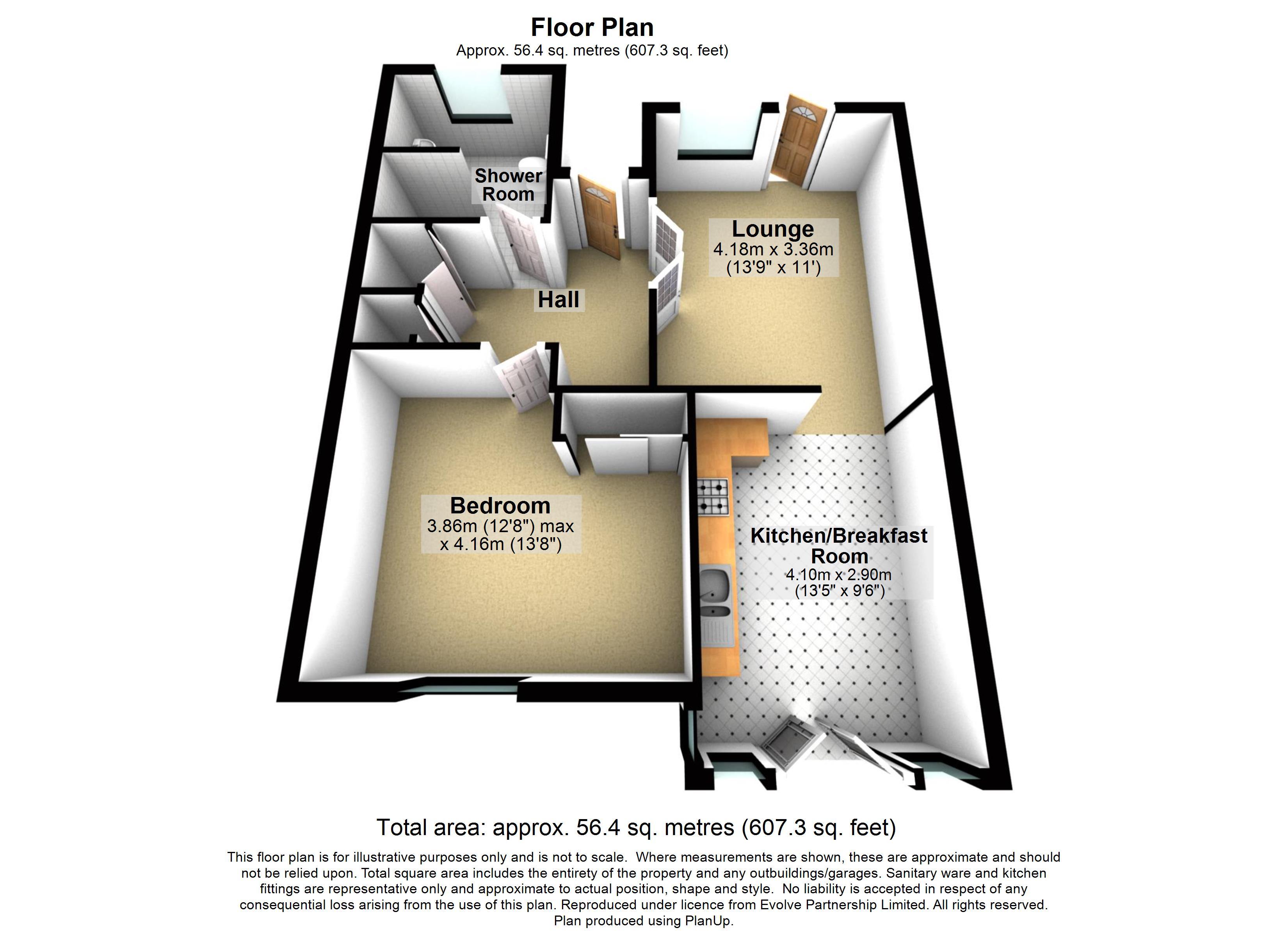 27 The Paddocks Floorplan