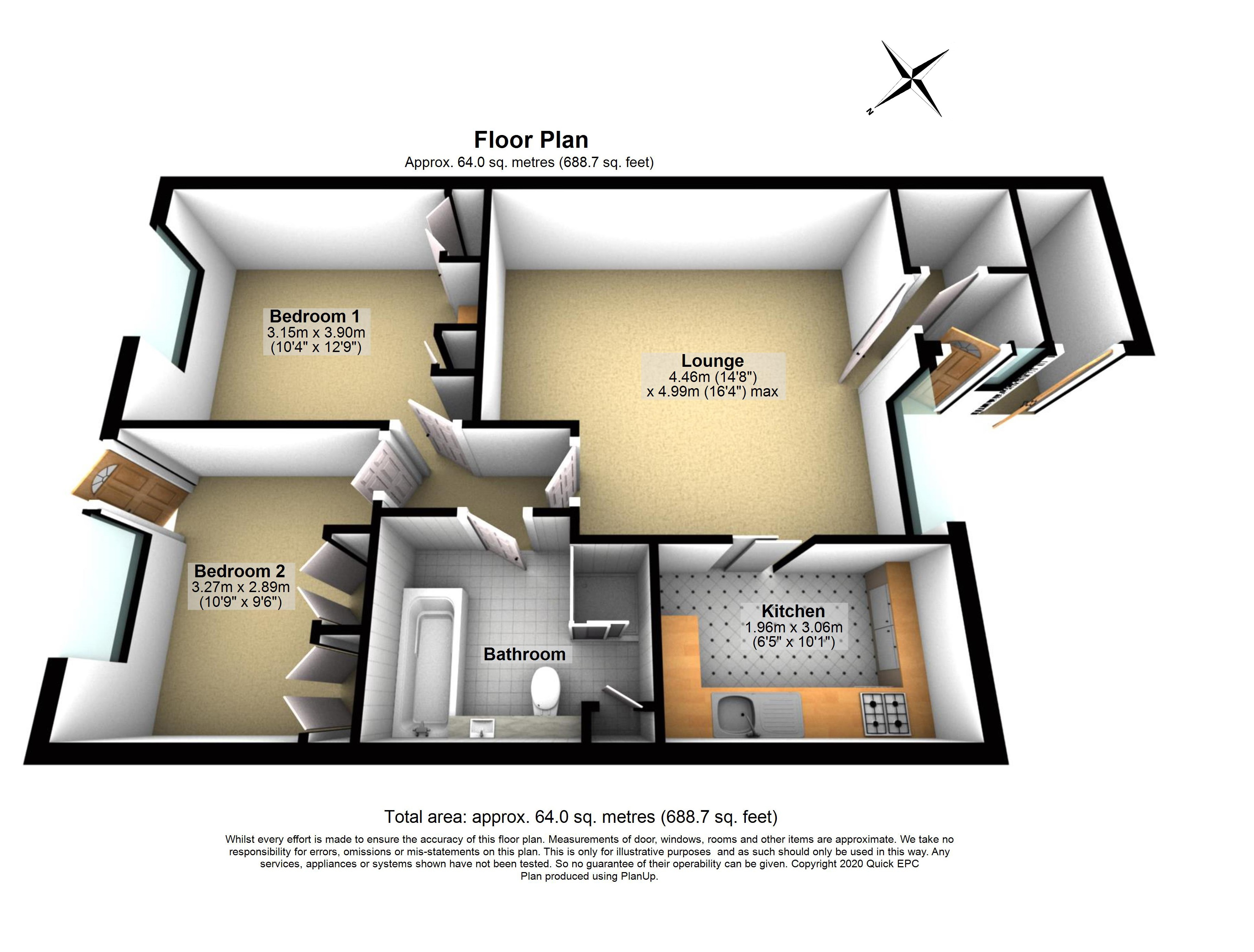 7 Clarke Place Floorplan