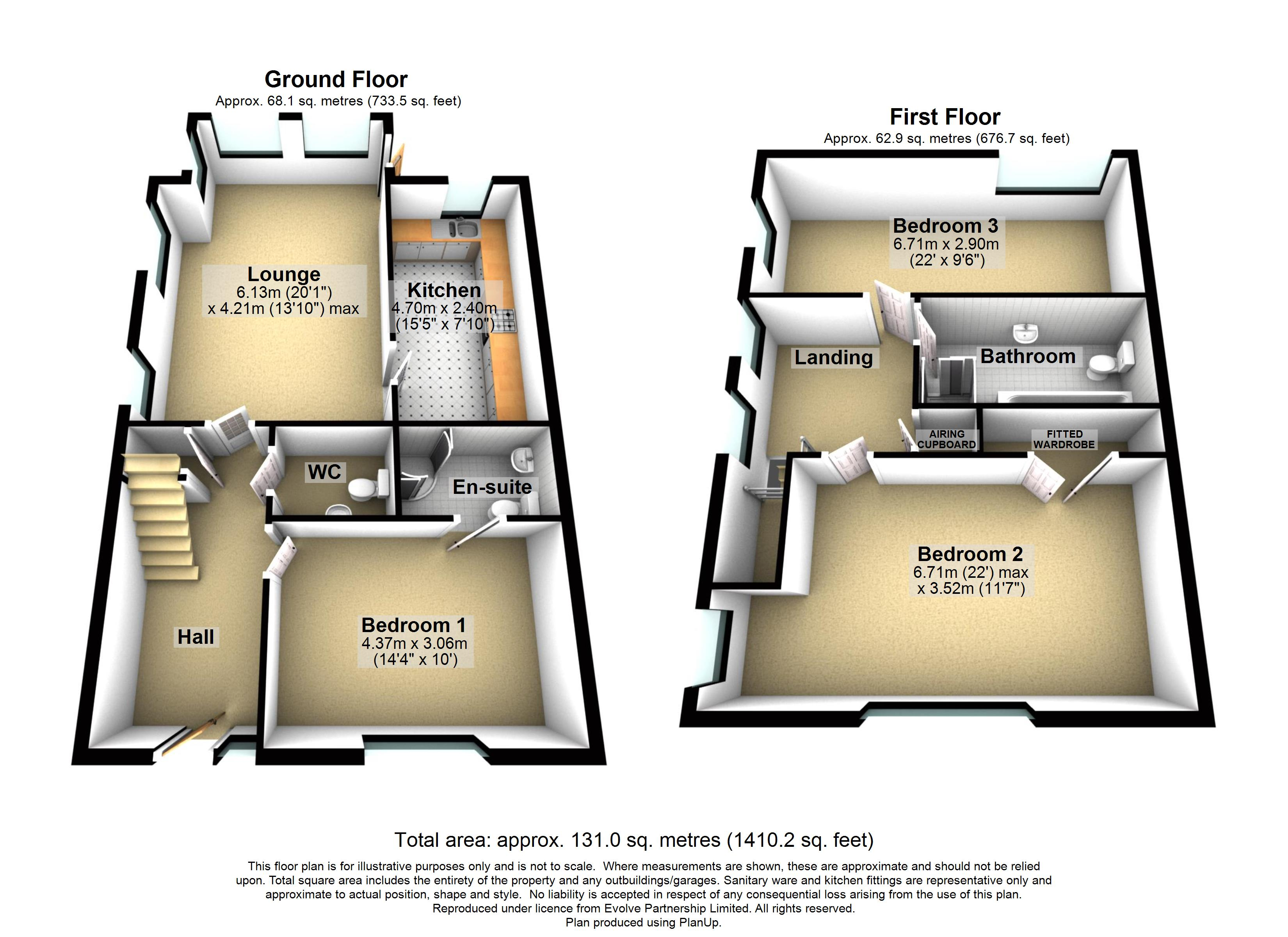 New Build 25 The Polo Field Floorplan