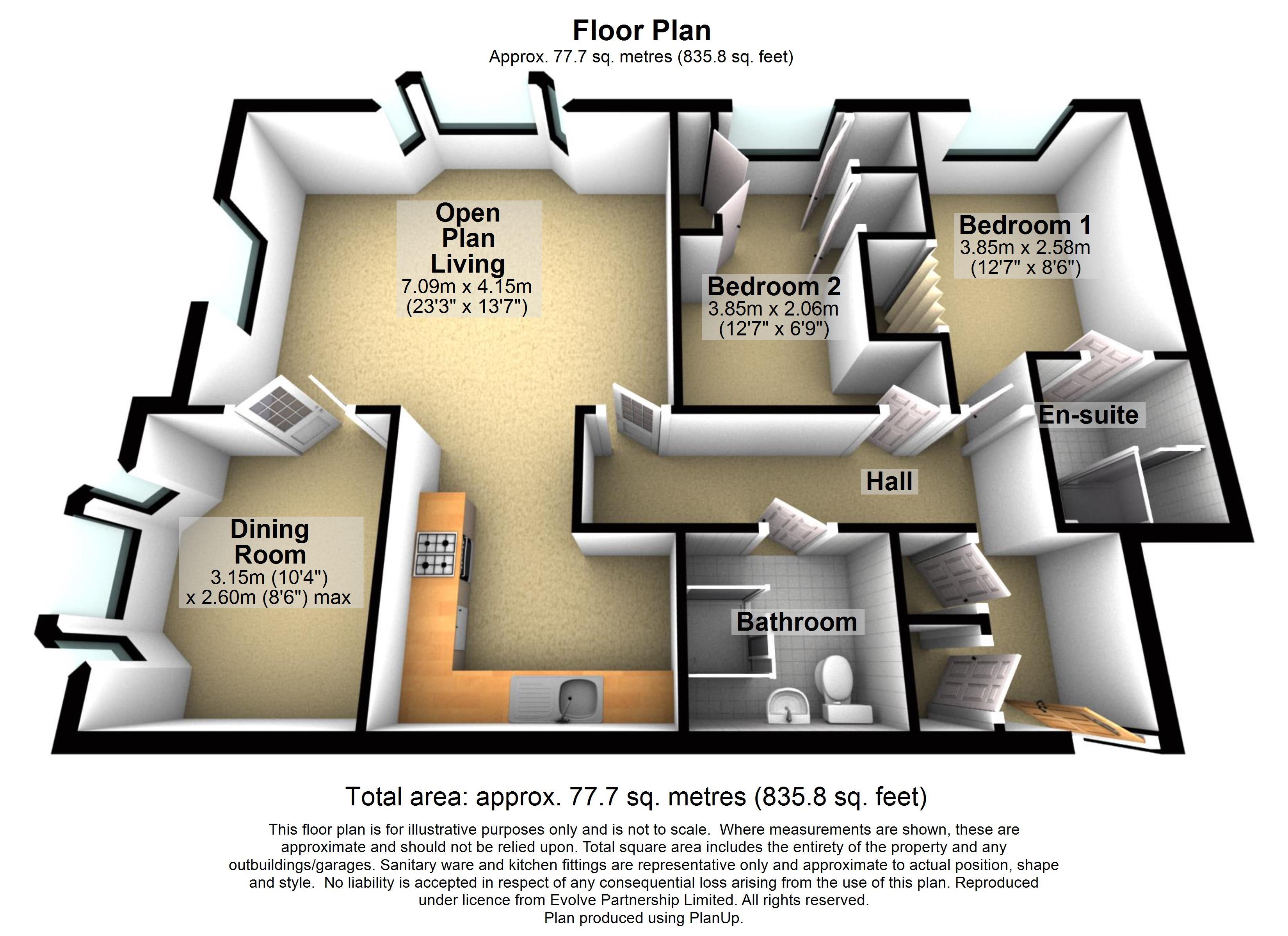 2 Sorrel House Floorplan