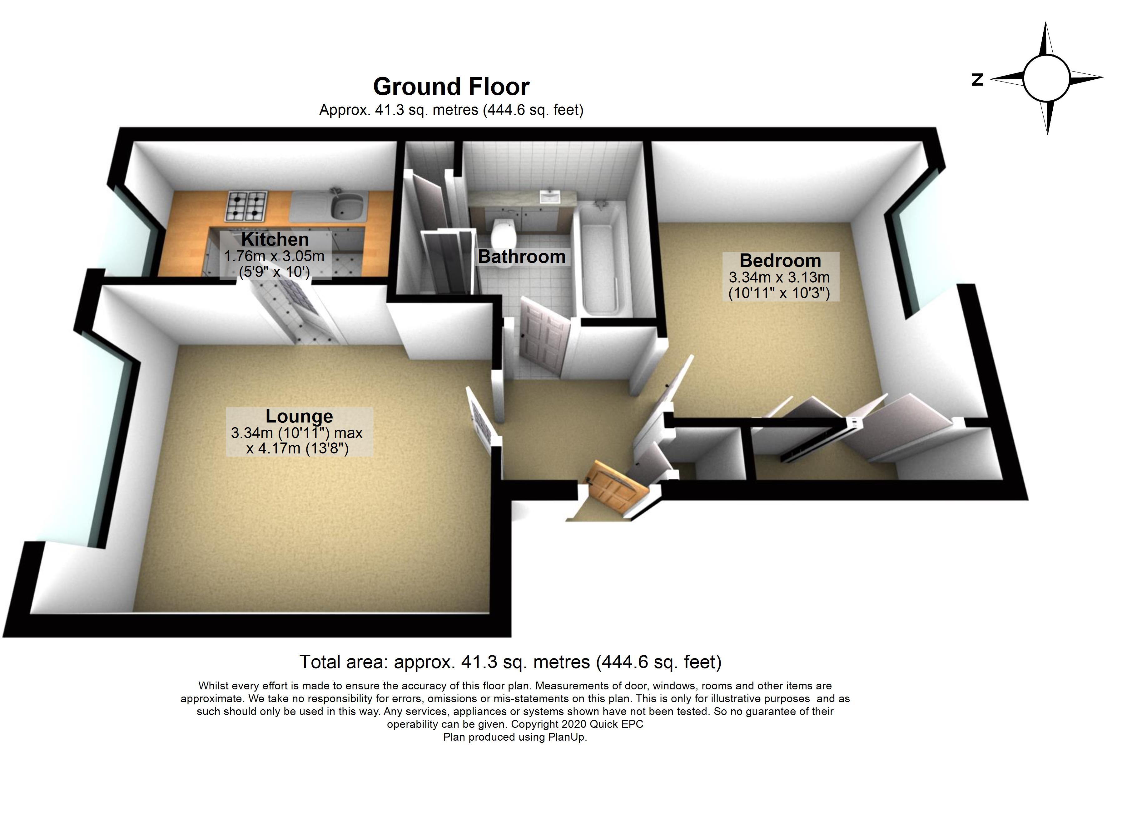 8 Loxford Court Floorplan