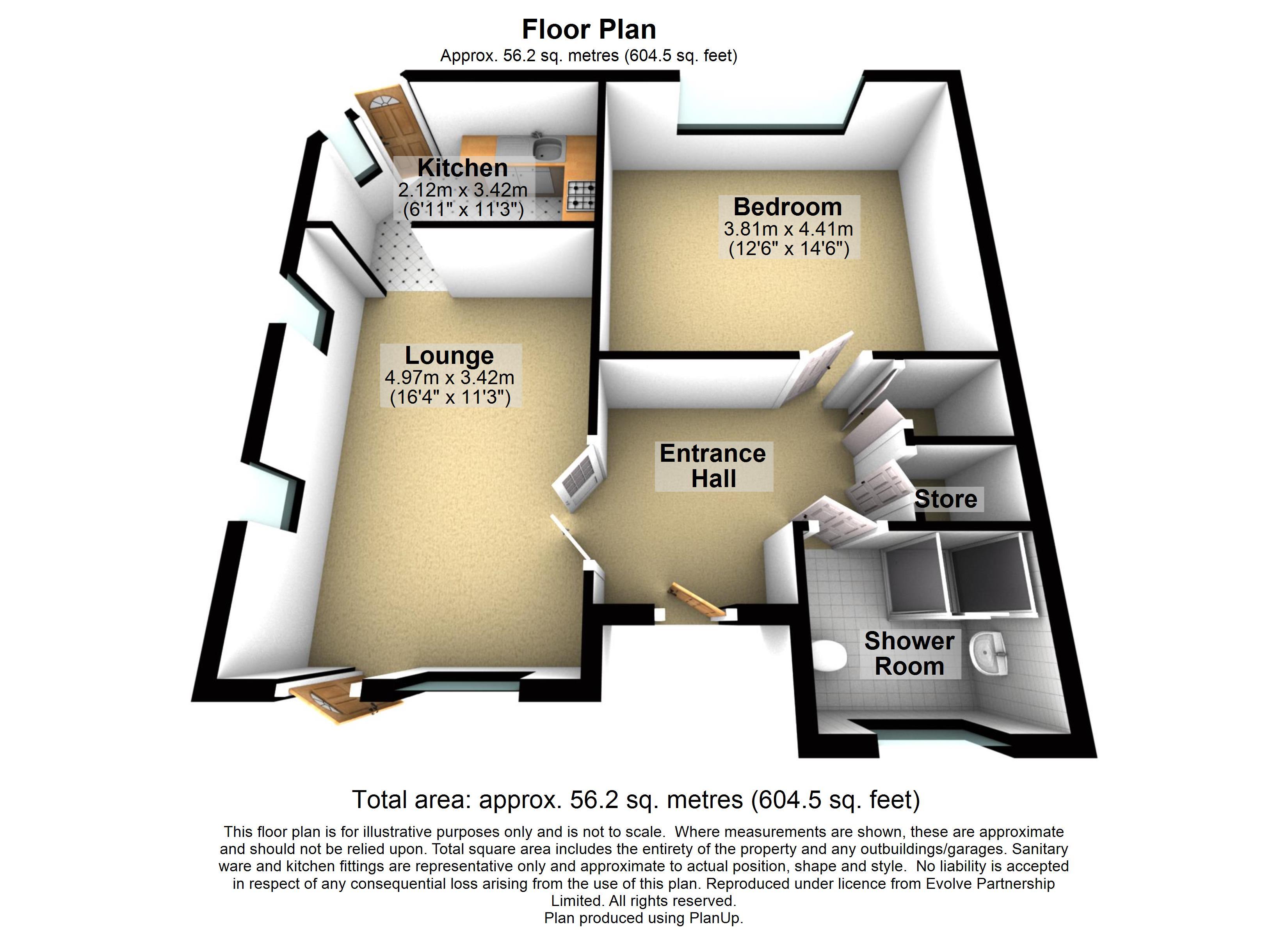 32 The Paddocks Floorplan