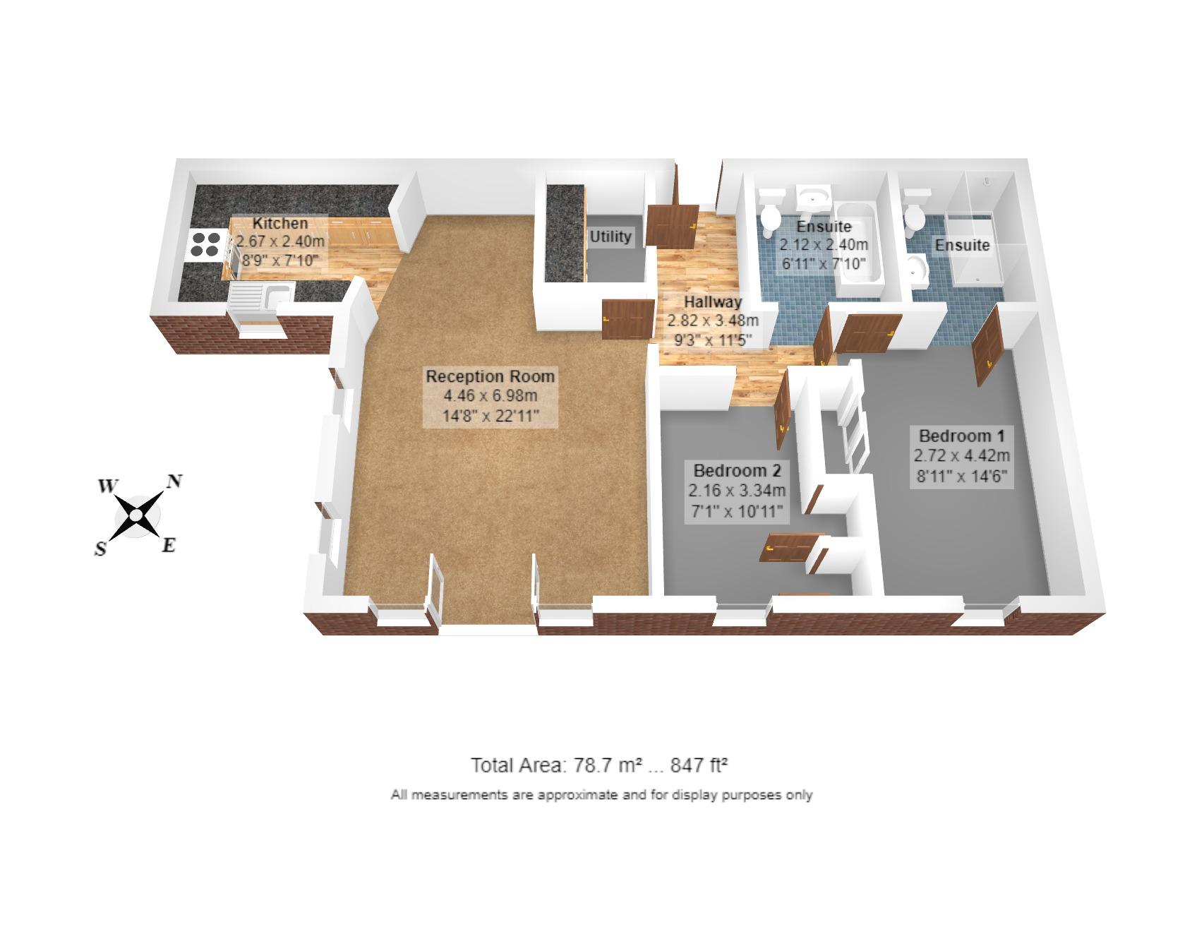 17 Homewood Court Floorplan