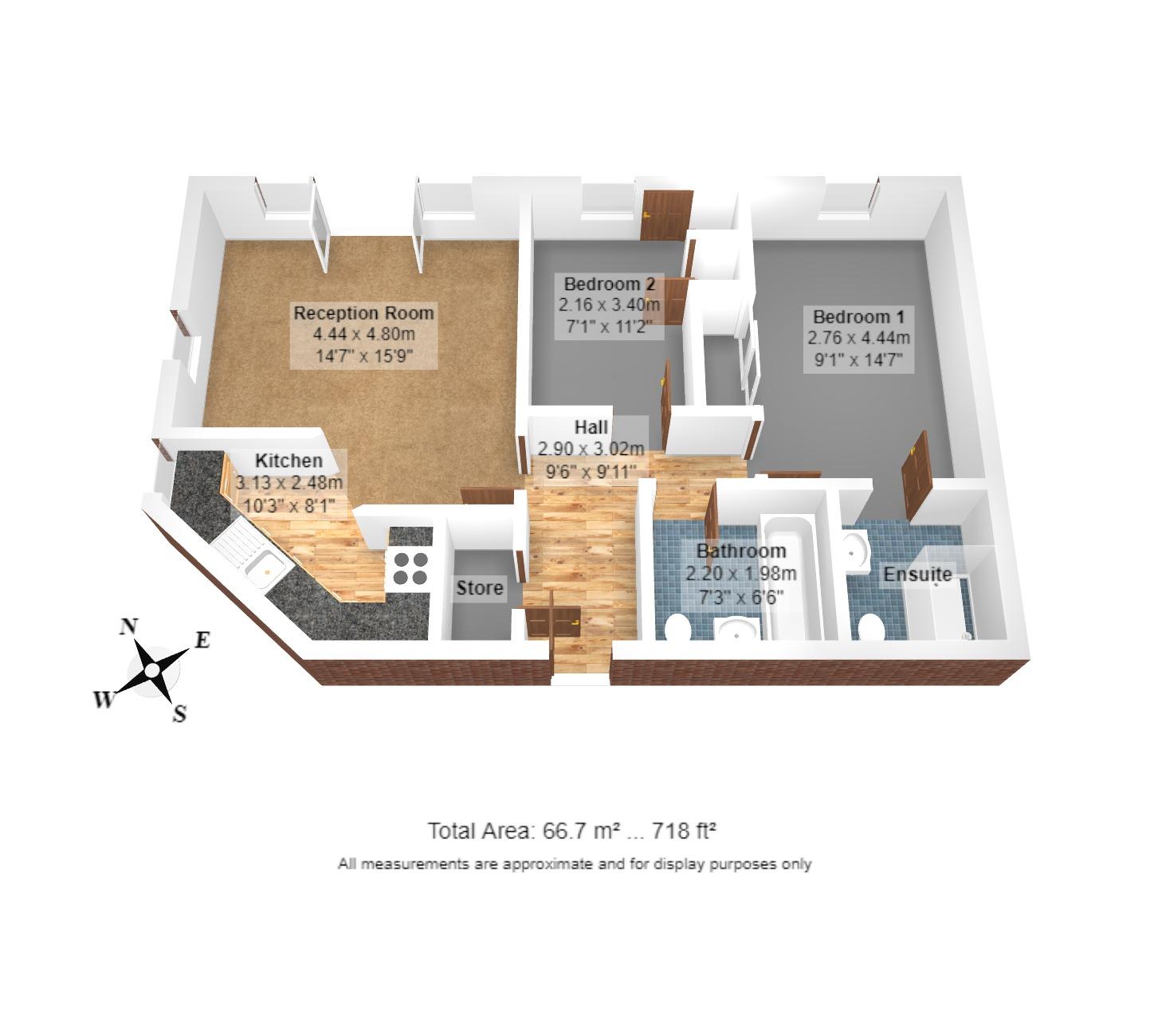 18 Homewood Court Floorplan