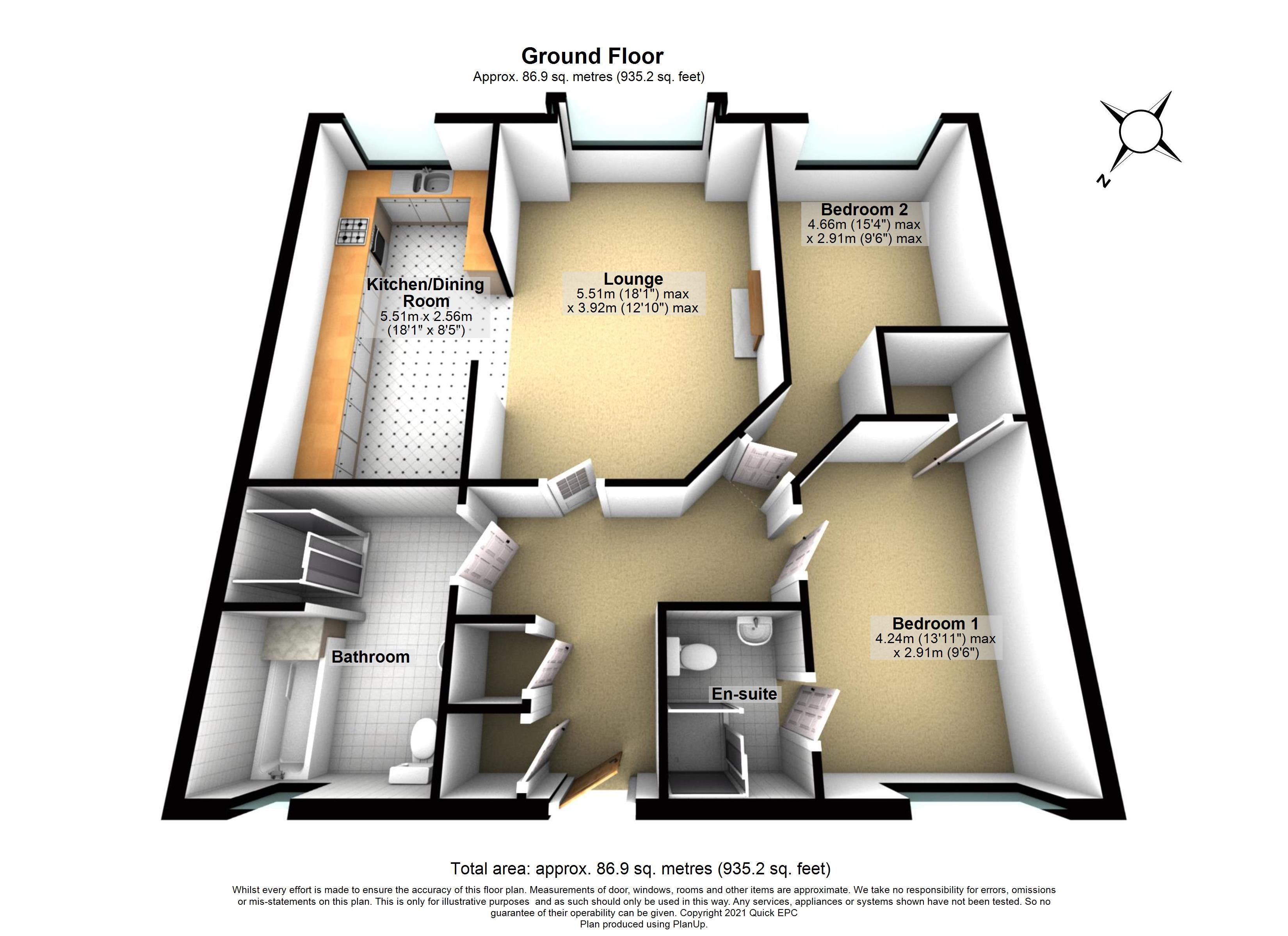 25 Sutton Green Lodge Floorplan