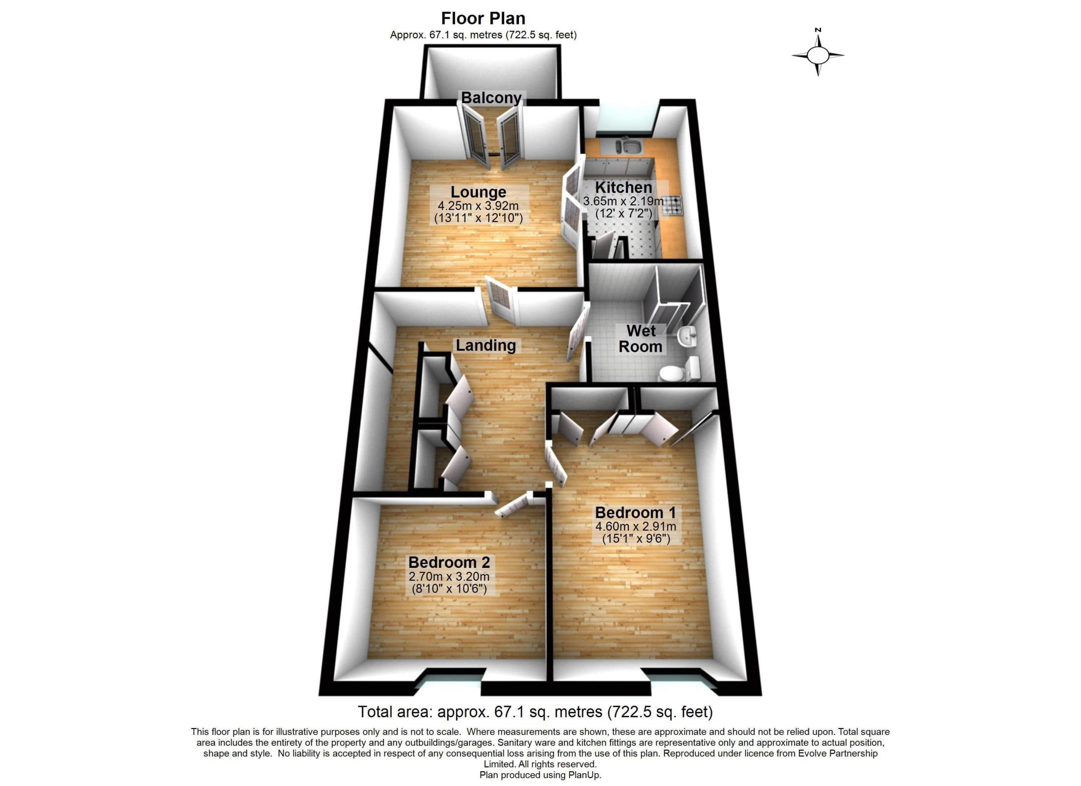19 Pendower House Floorplan