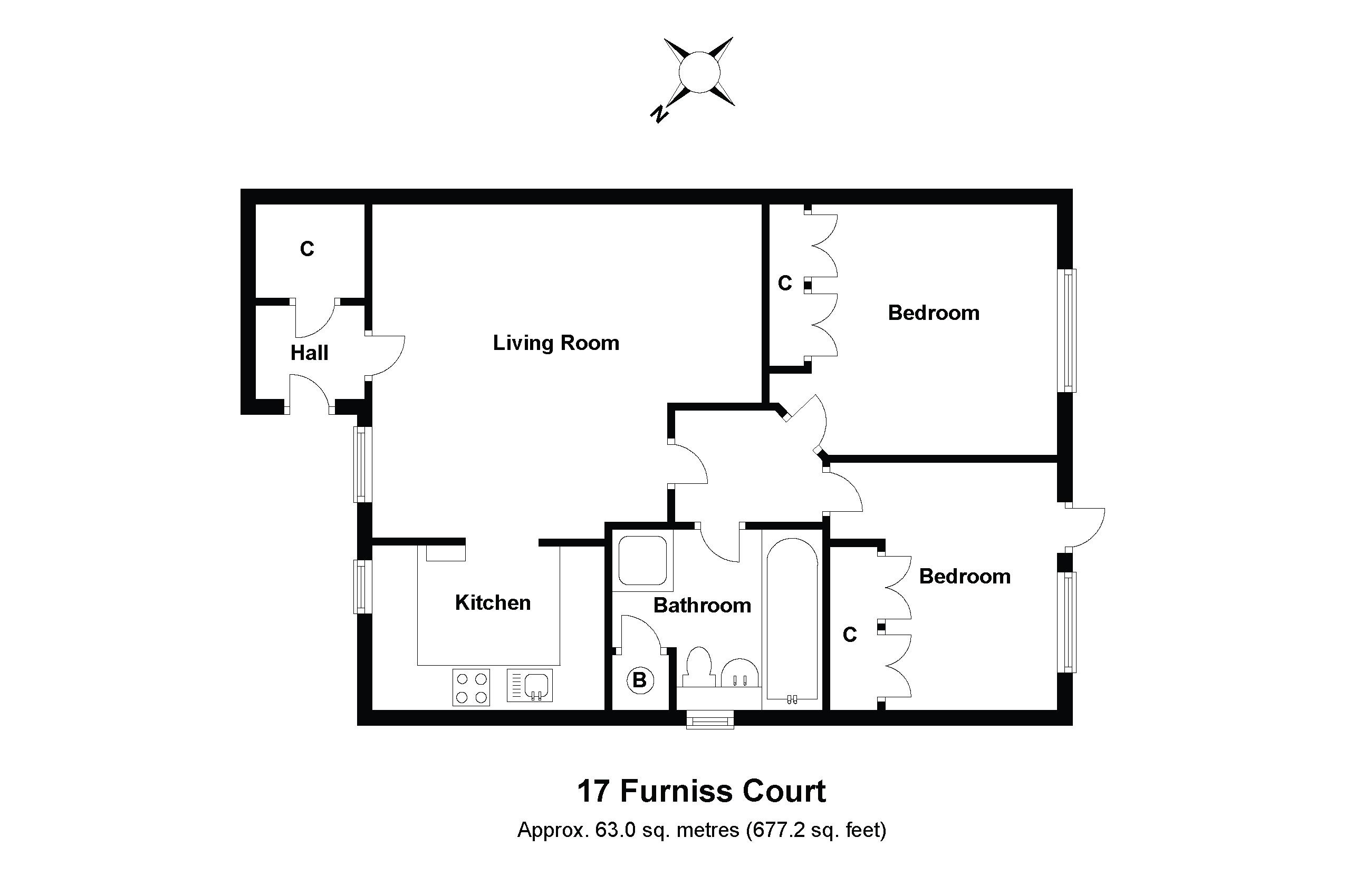 17 Furniss Court Floorplan
