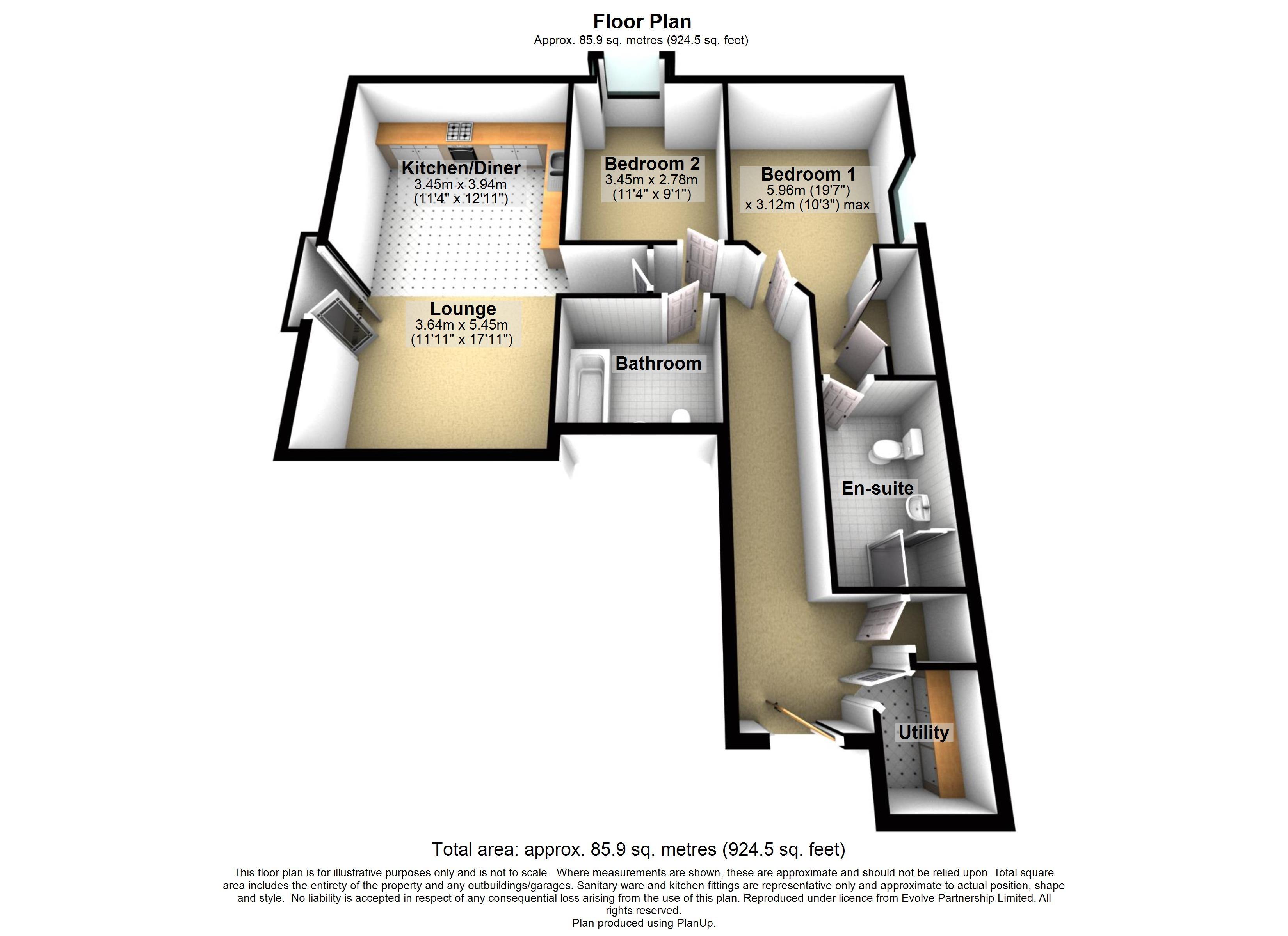 14 Elmbridge Manor Floorplan