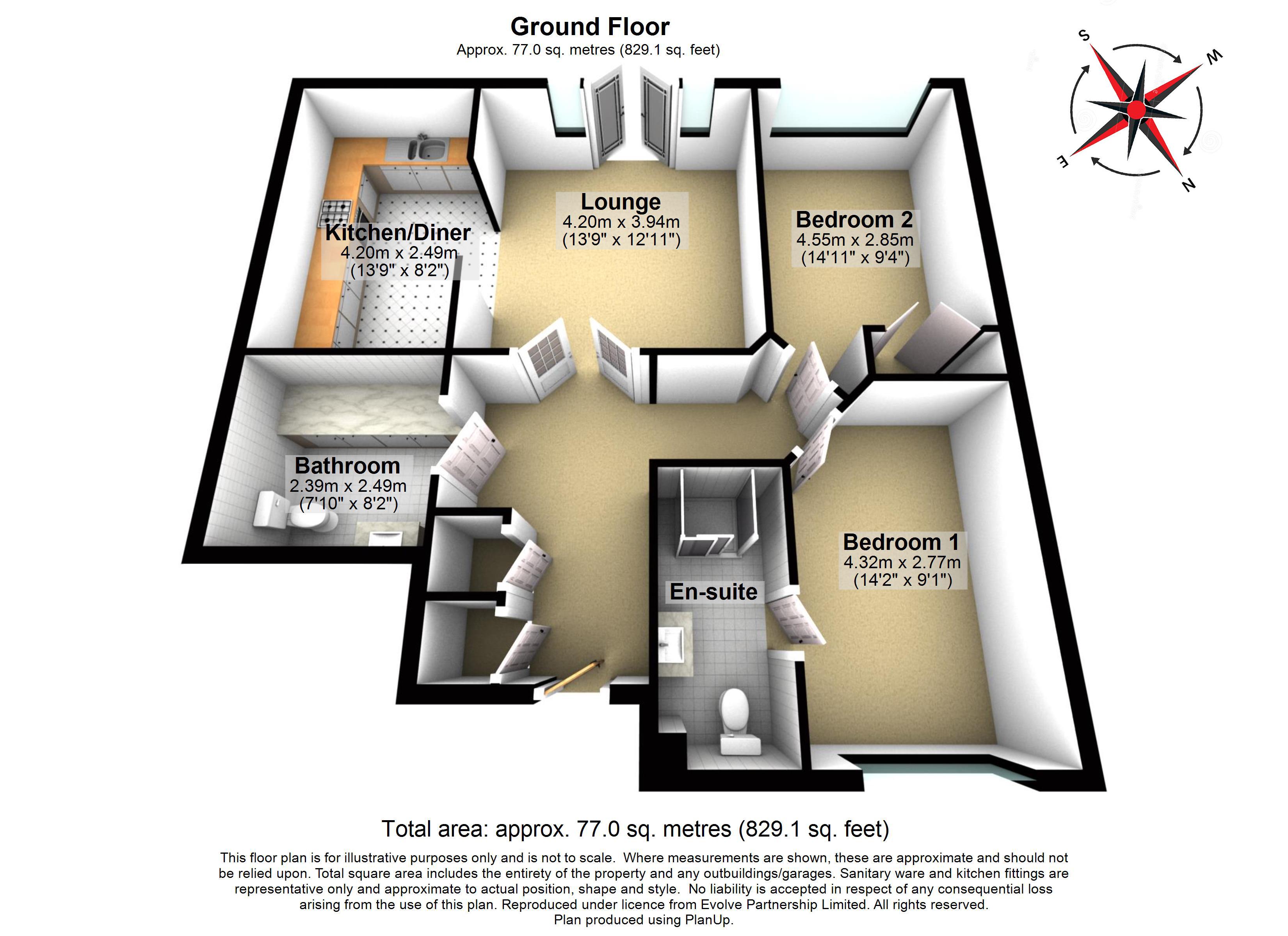 22 Sutton Green Lodge Floorplan