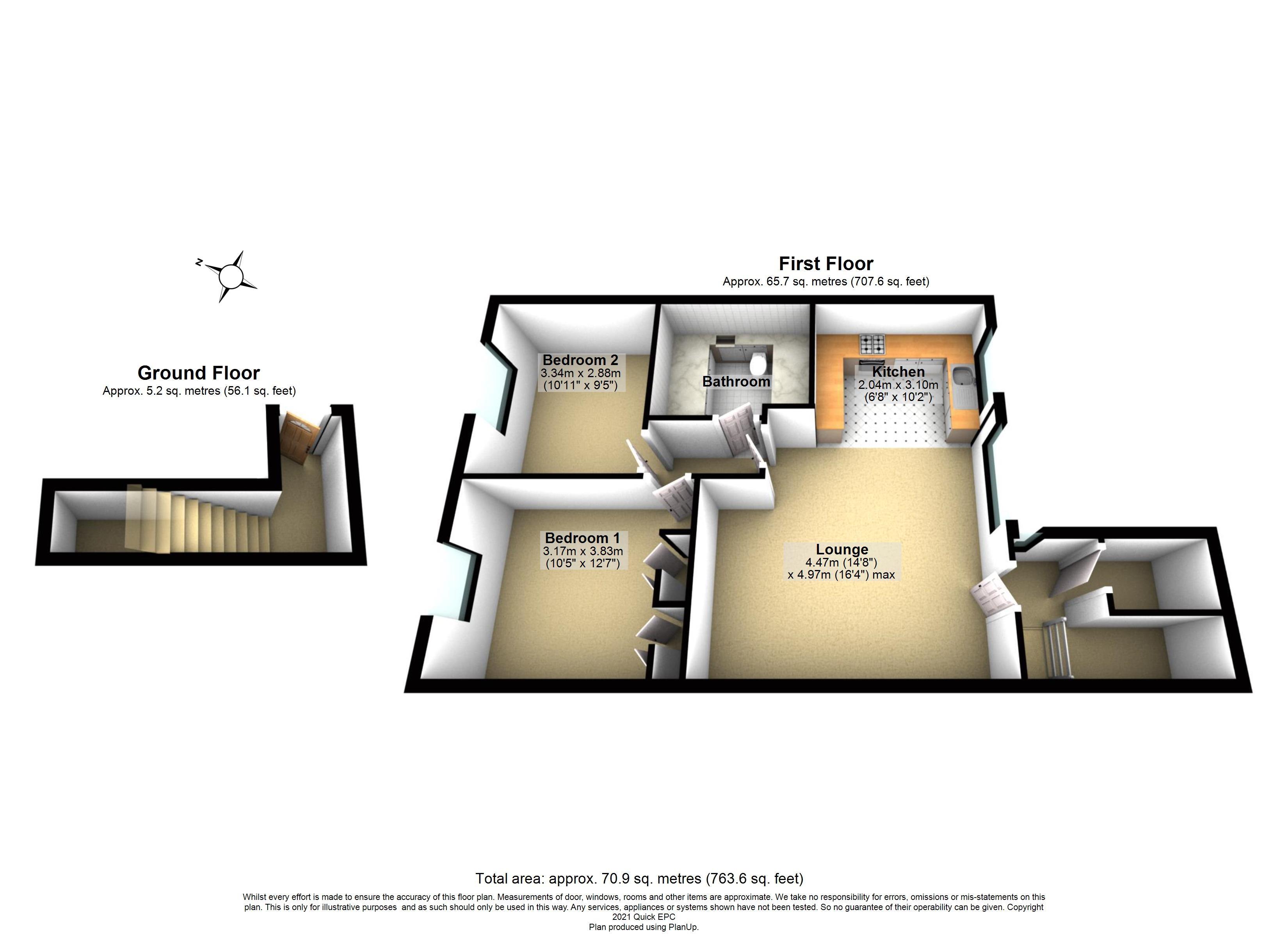 7 Ilford Court Floorplan