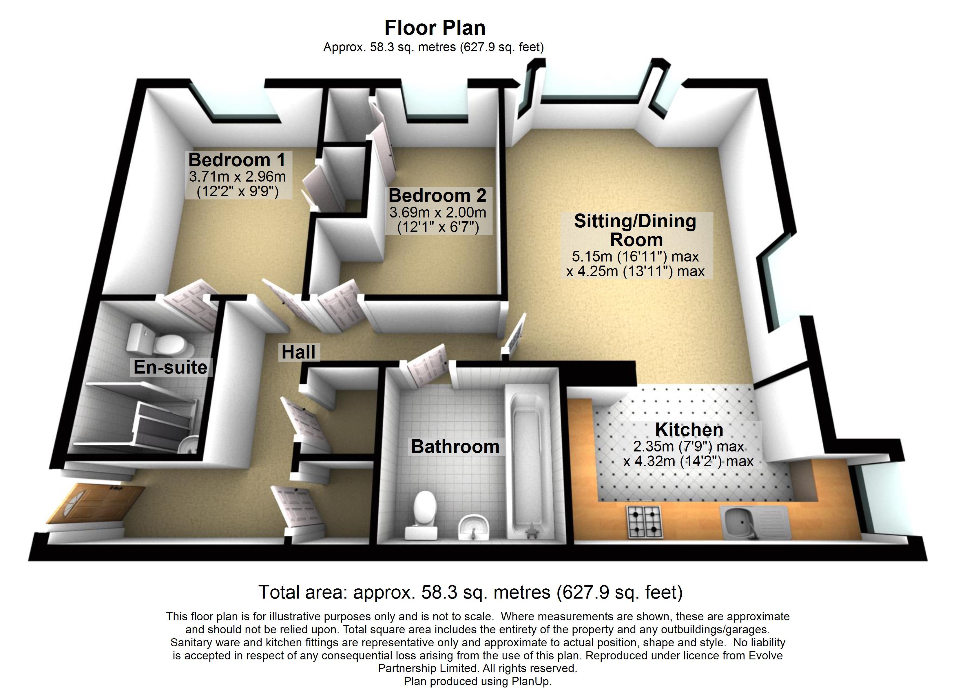 55 Vivary House Floorplan