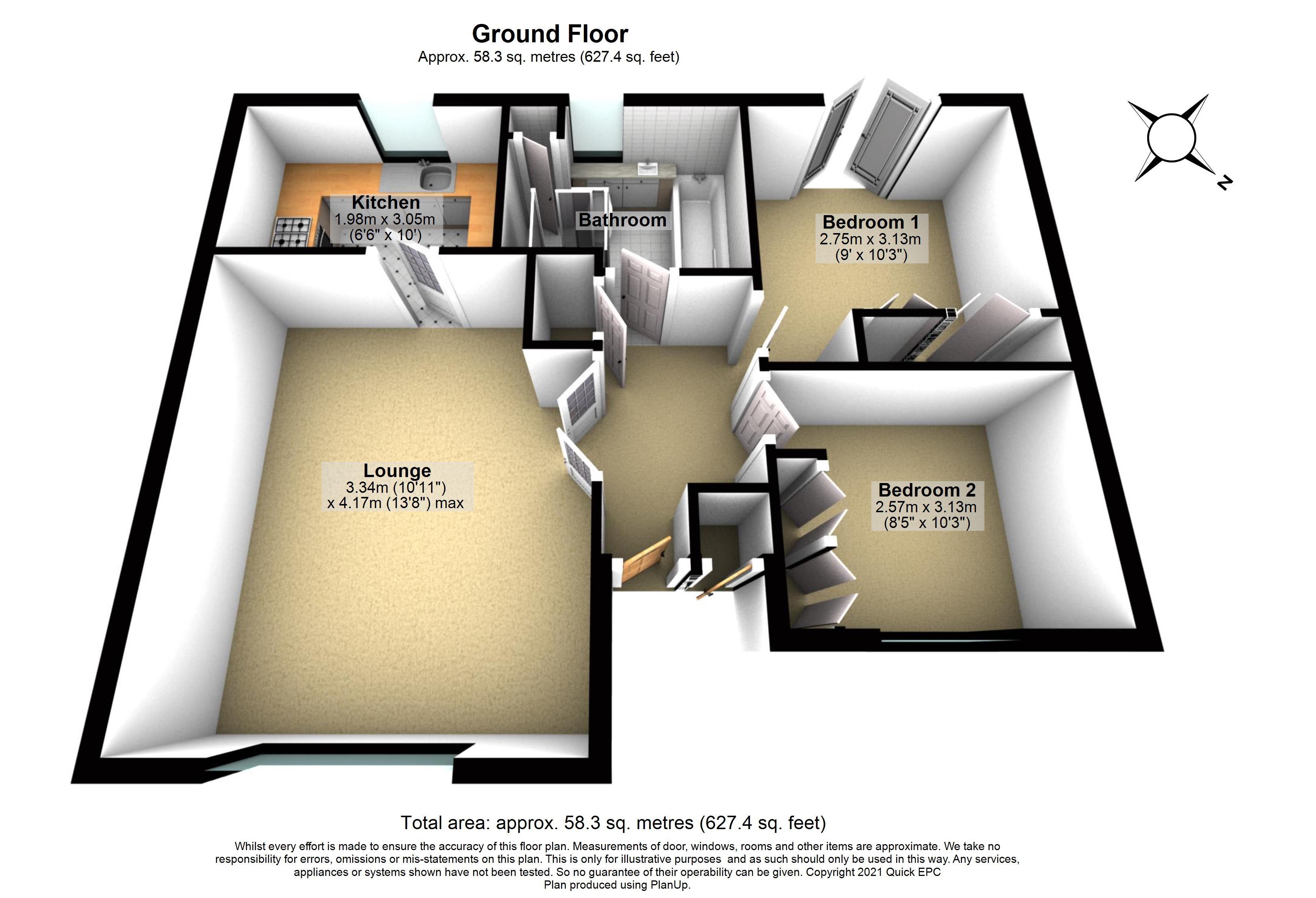 21 Loxford Court Floorplan