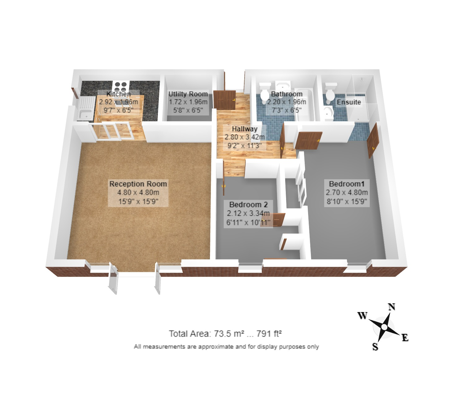 2 Homewood Court Floorplan