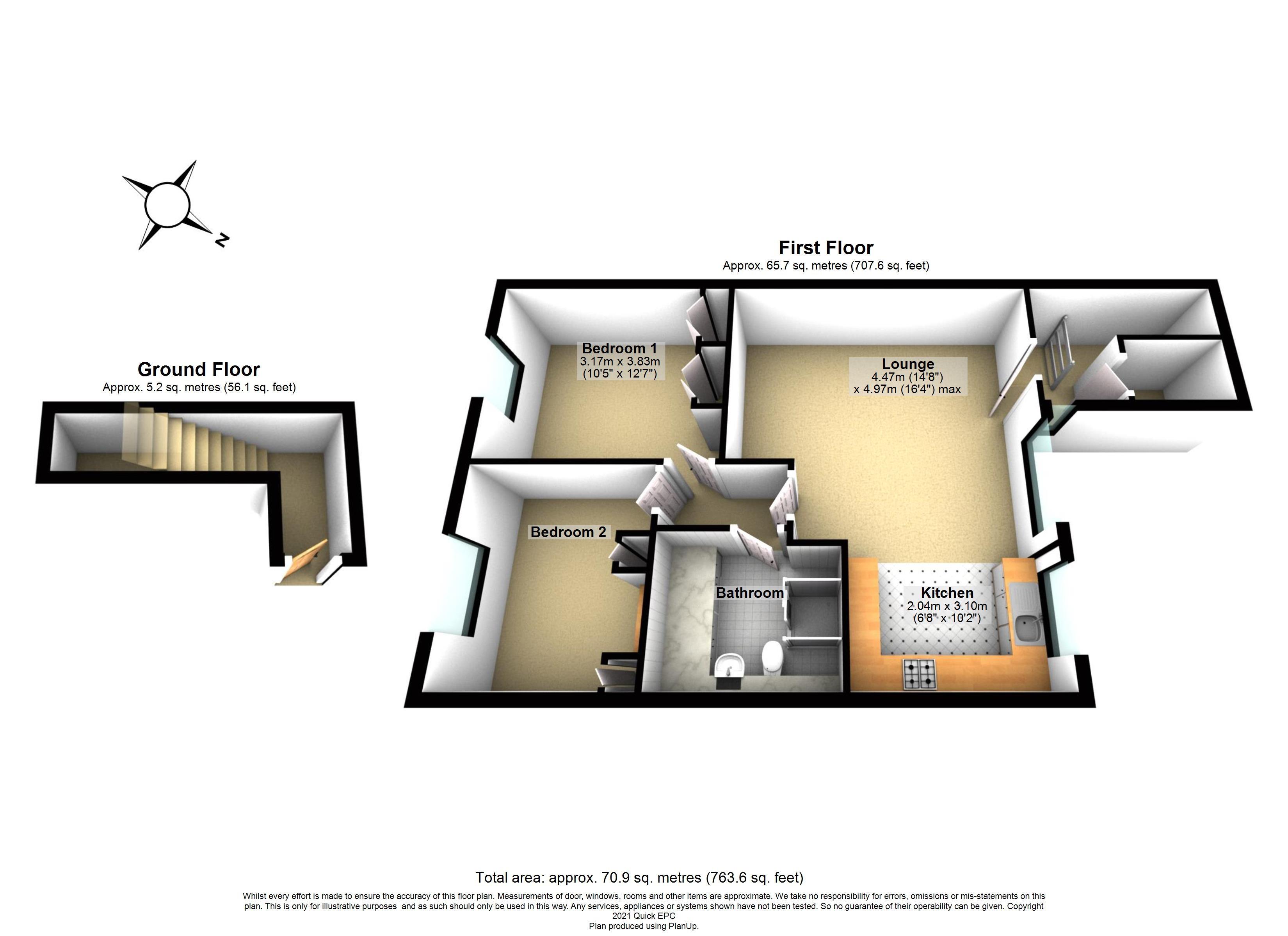 17 Ilford Court Floorplan