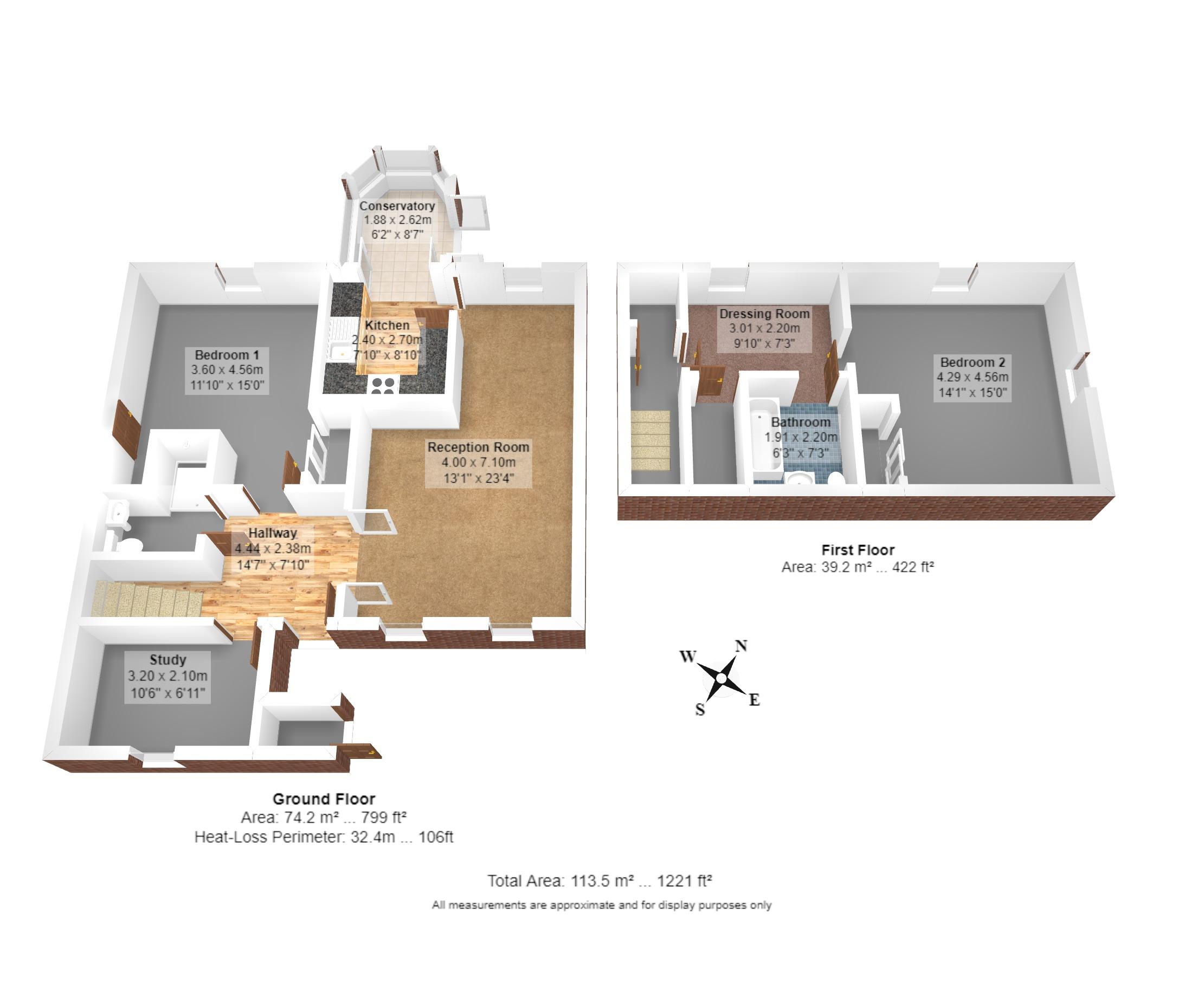 27 Benningfield Gardens Floorplan