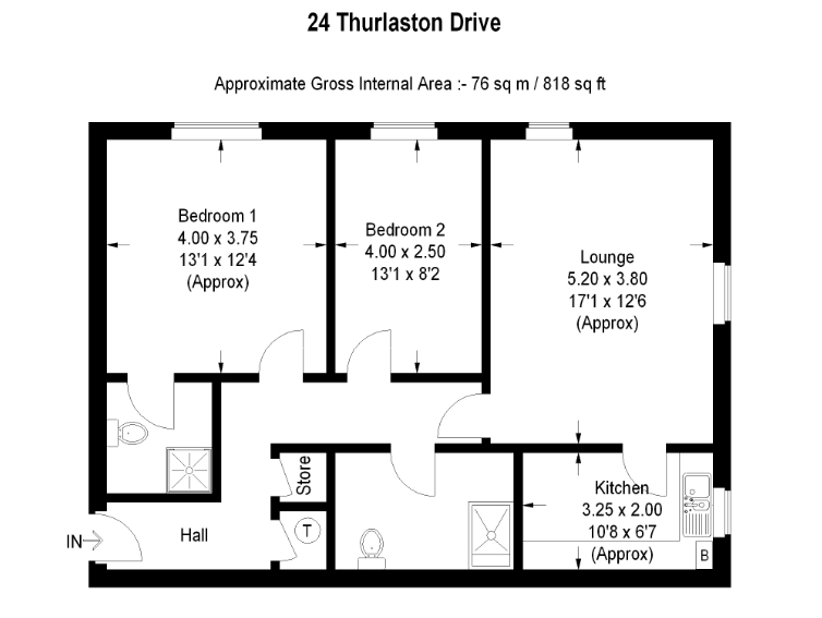 24 Streeton House Floorplan