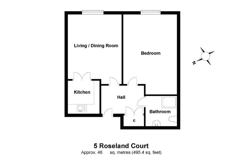 5 Roseland Court Floorplan