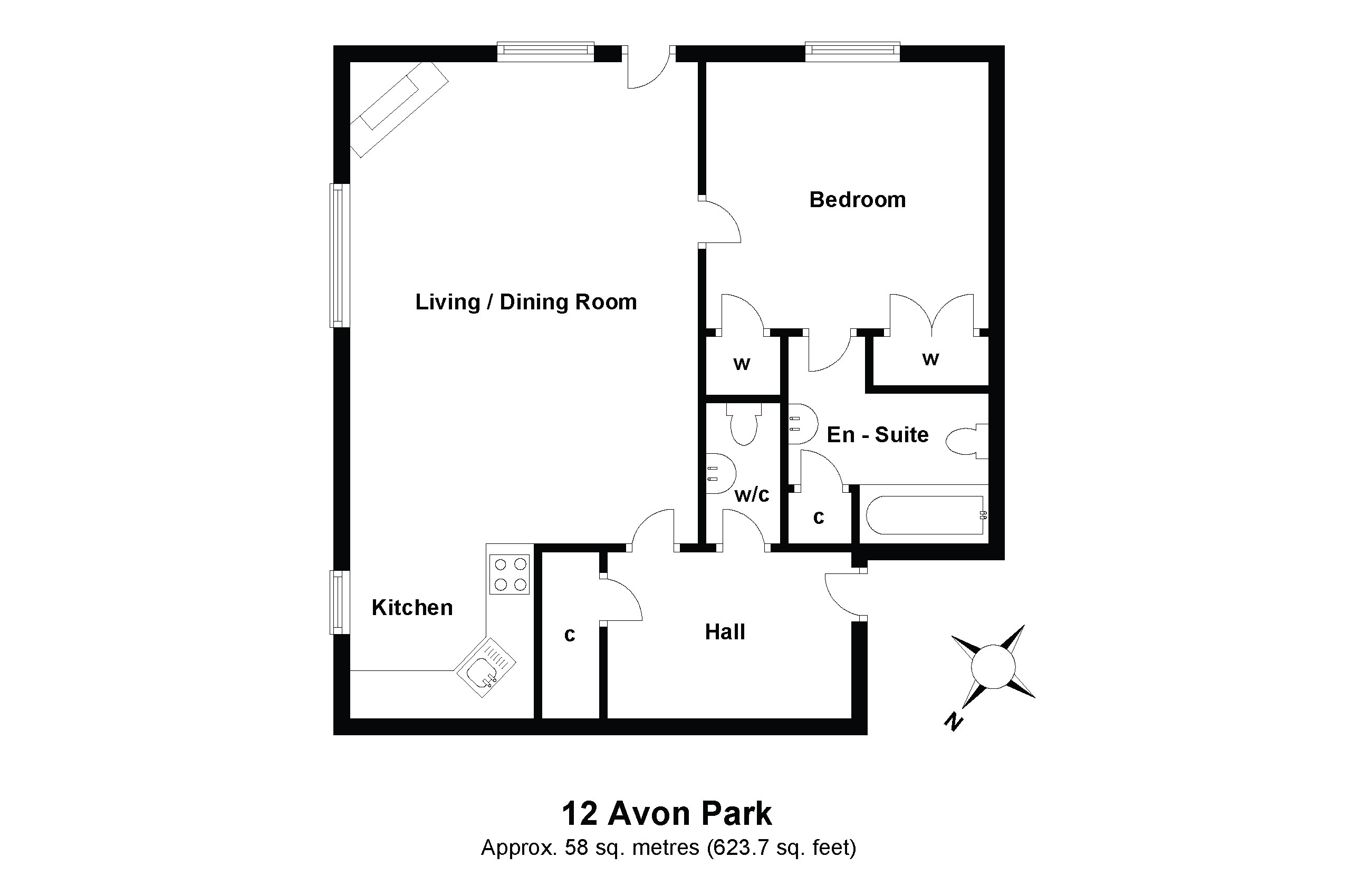 12 Avon Floorplan
