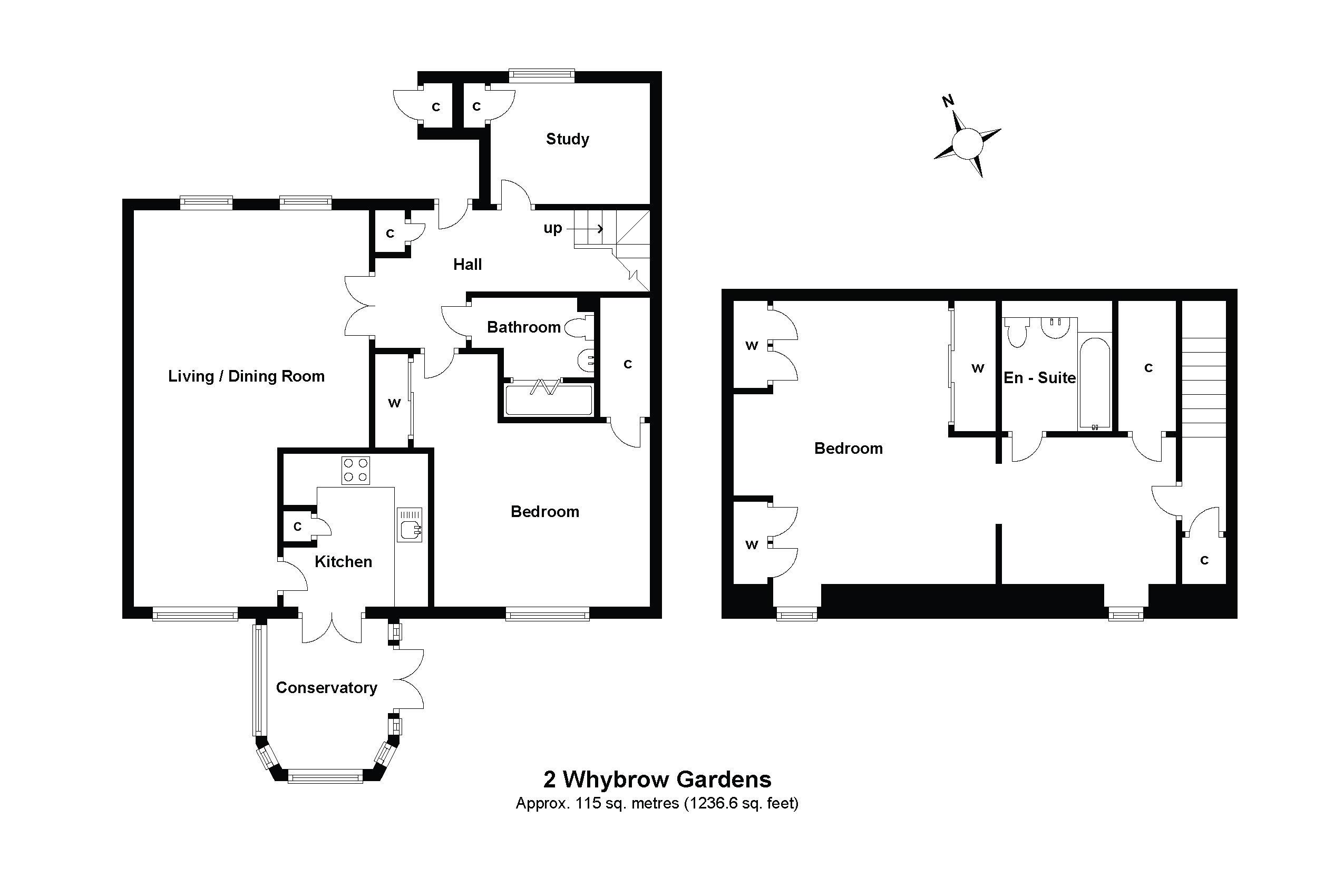 2 Whybrow Gardens Floorplan
