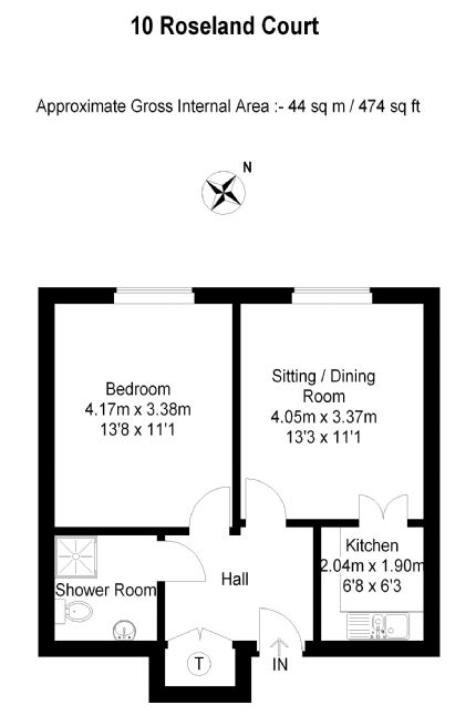 10 Roseland Court Floorplan
