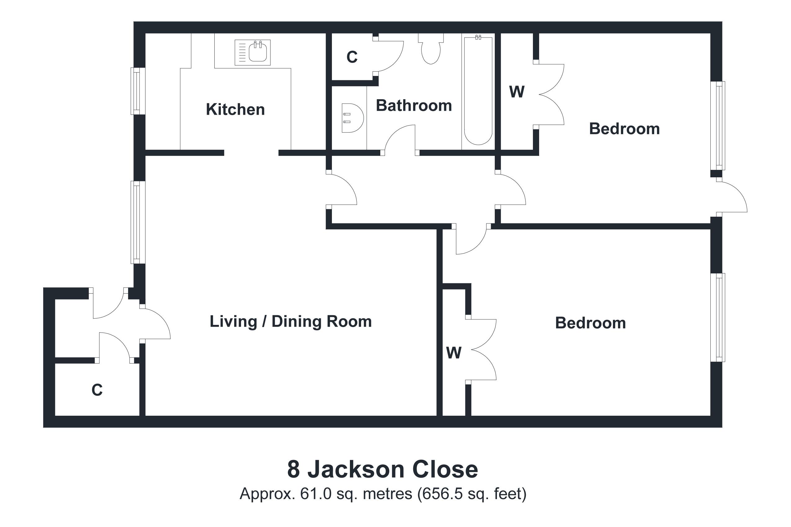 8 Jackson Close Floorplan