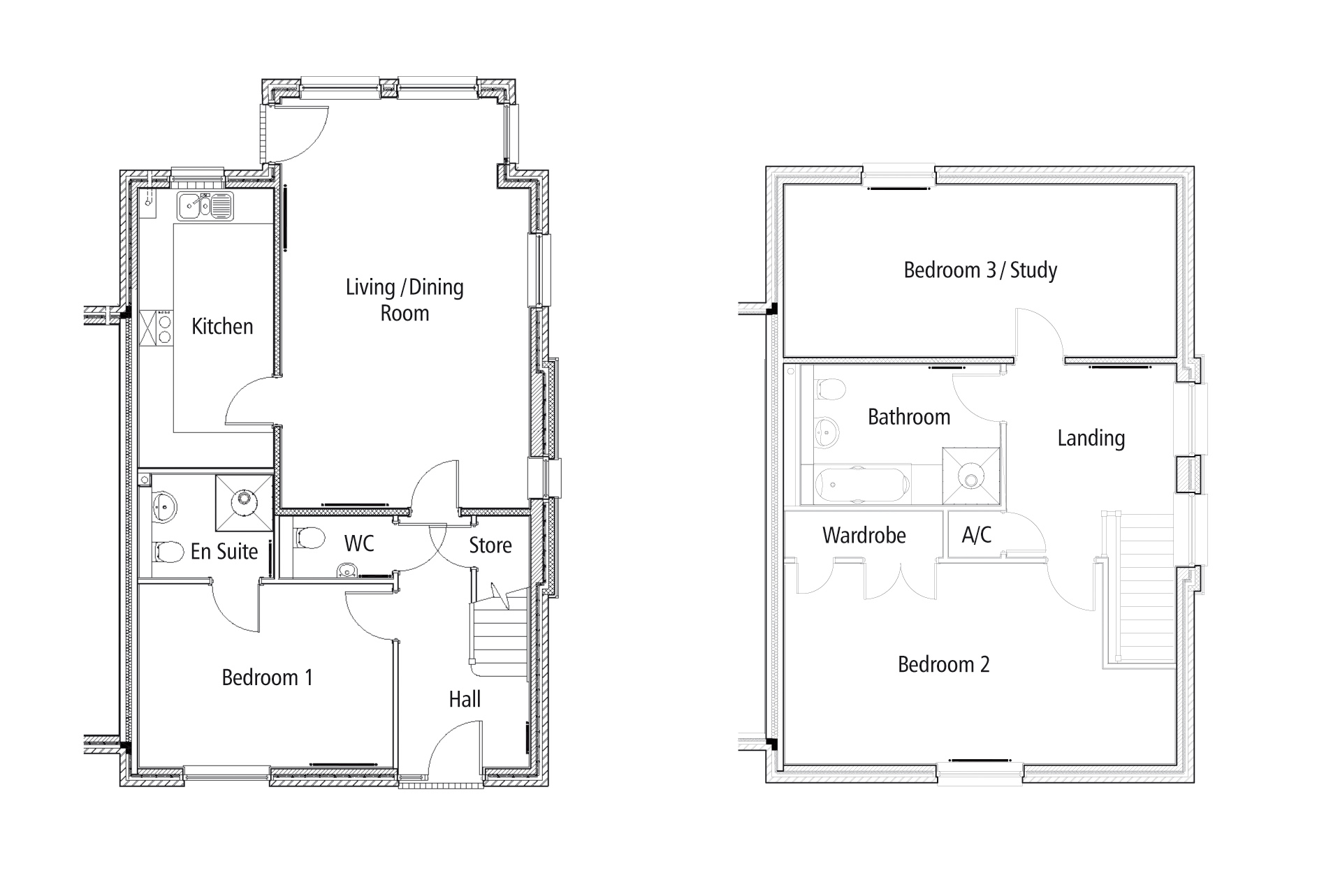 New Build 25 The Polo Field Floorplan