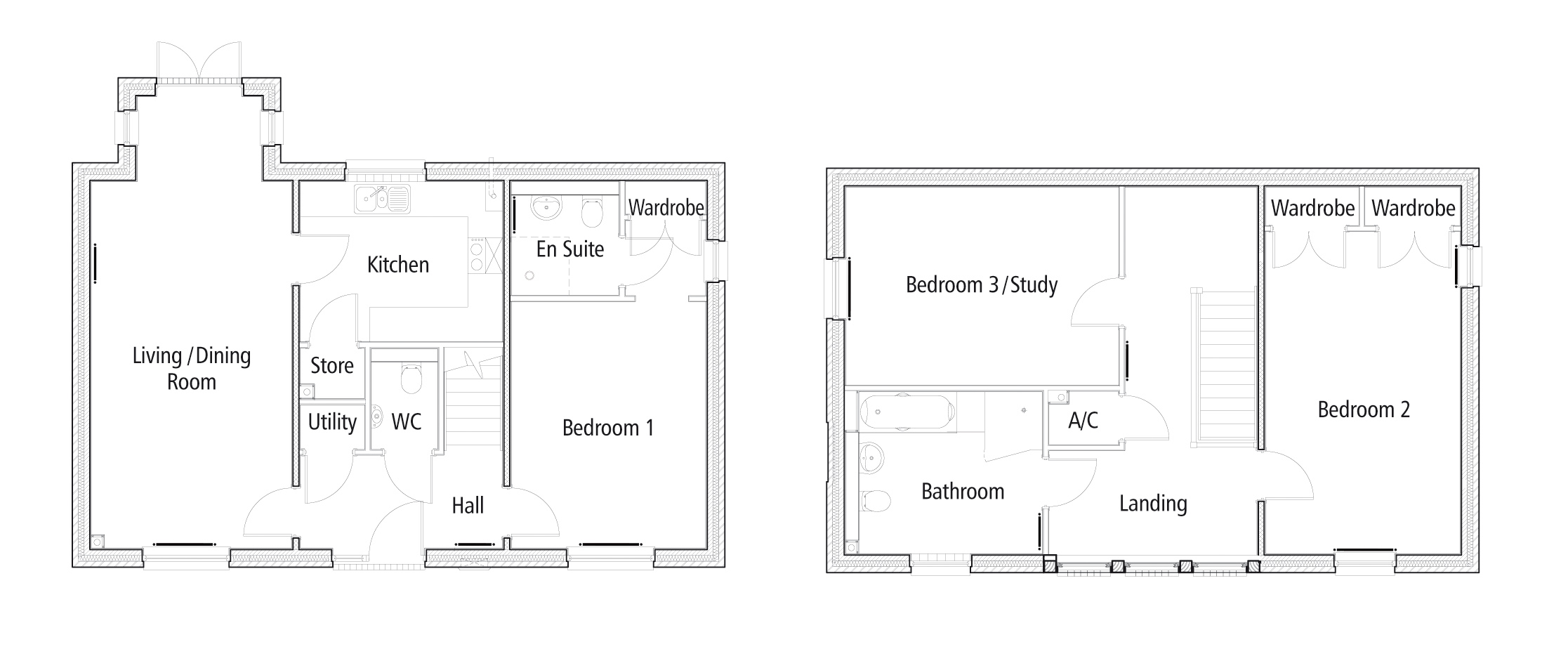 New Build 20 The Polo Field Floorplan
