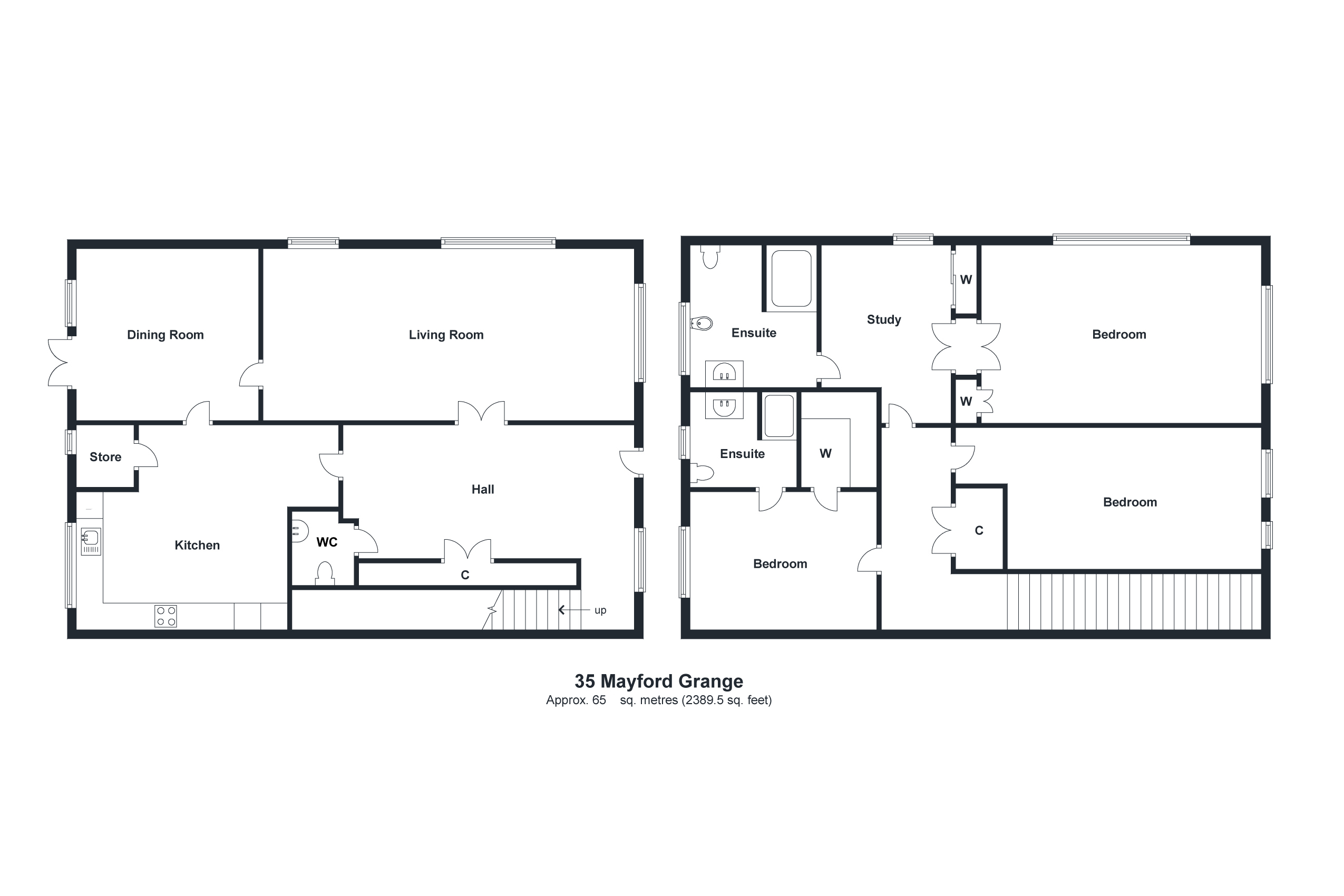 35 Barn Lodge Floorplan