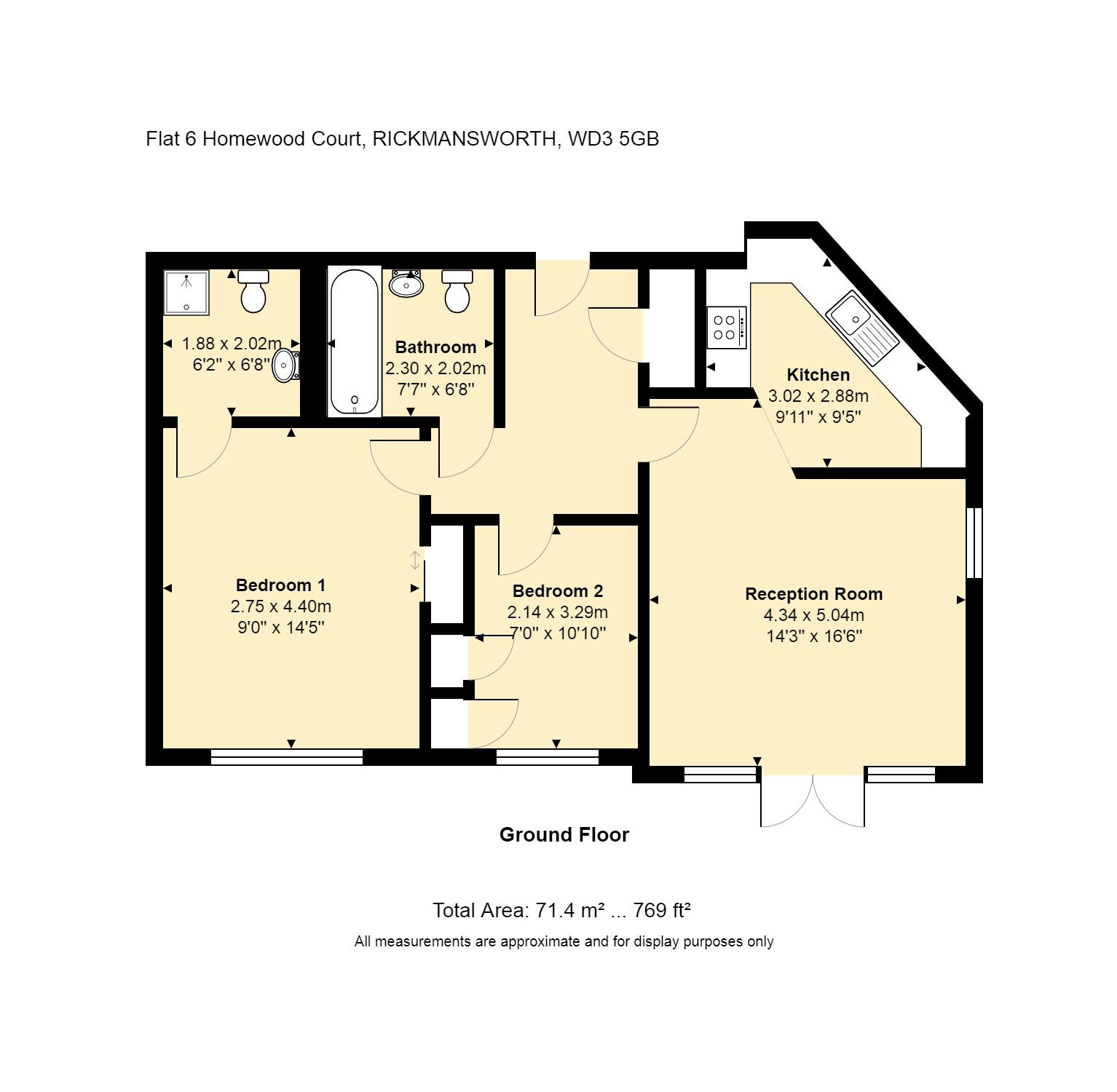6 Homewood Court Floorplan