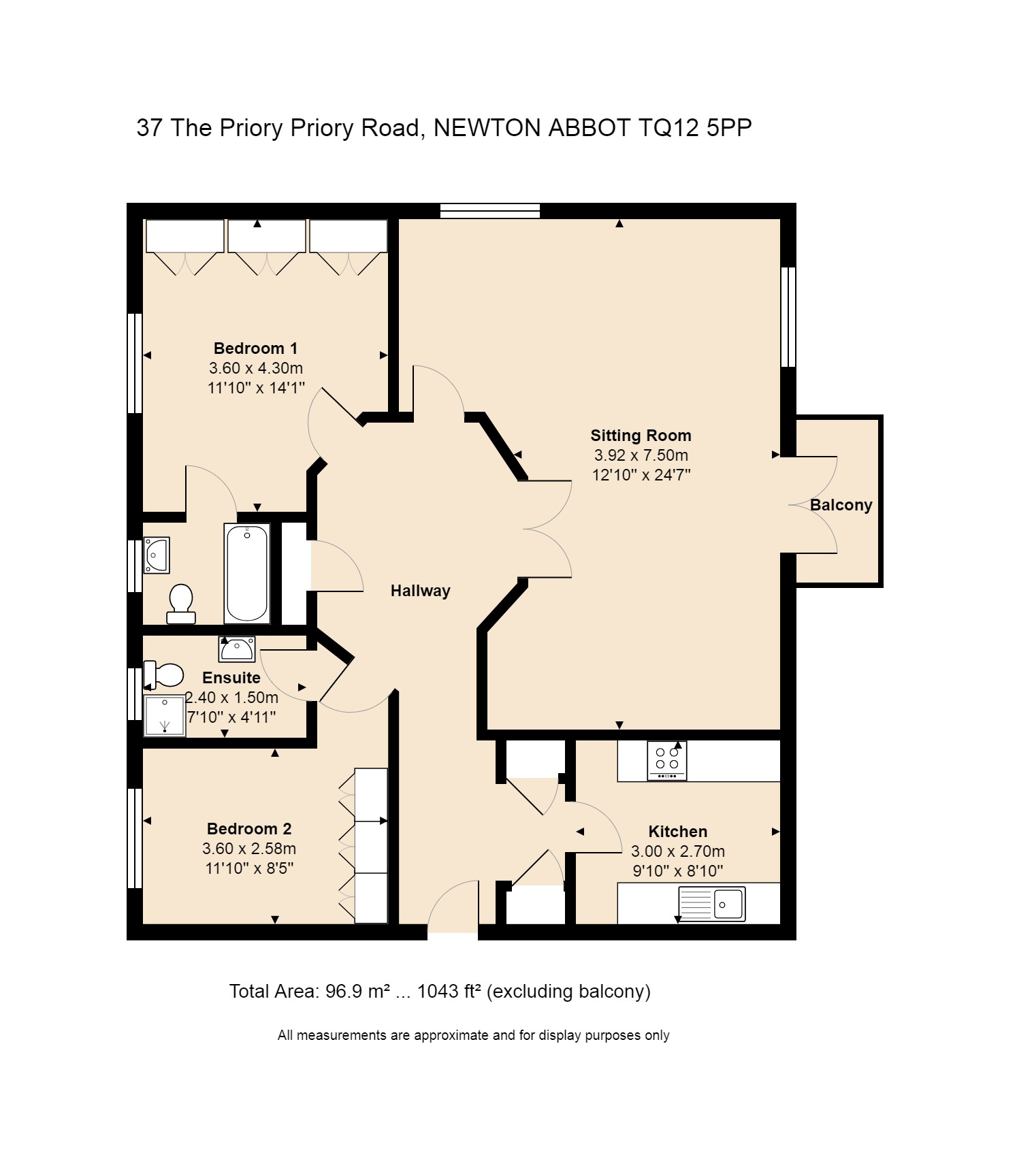 37 The Priory Floorplan