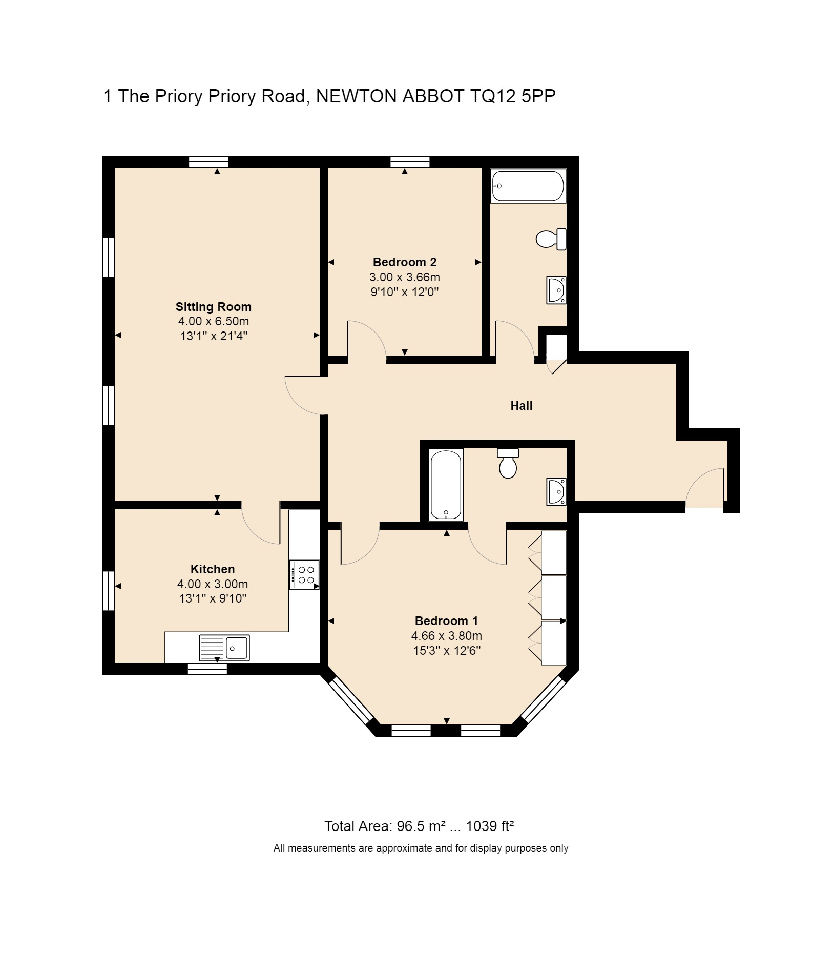 1 The Priory Floorplan