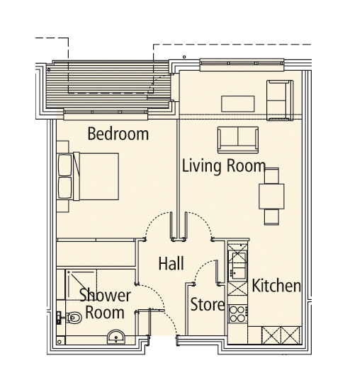 New Build, 16 Medway House Floorplan
