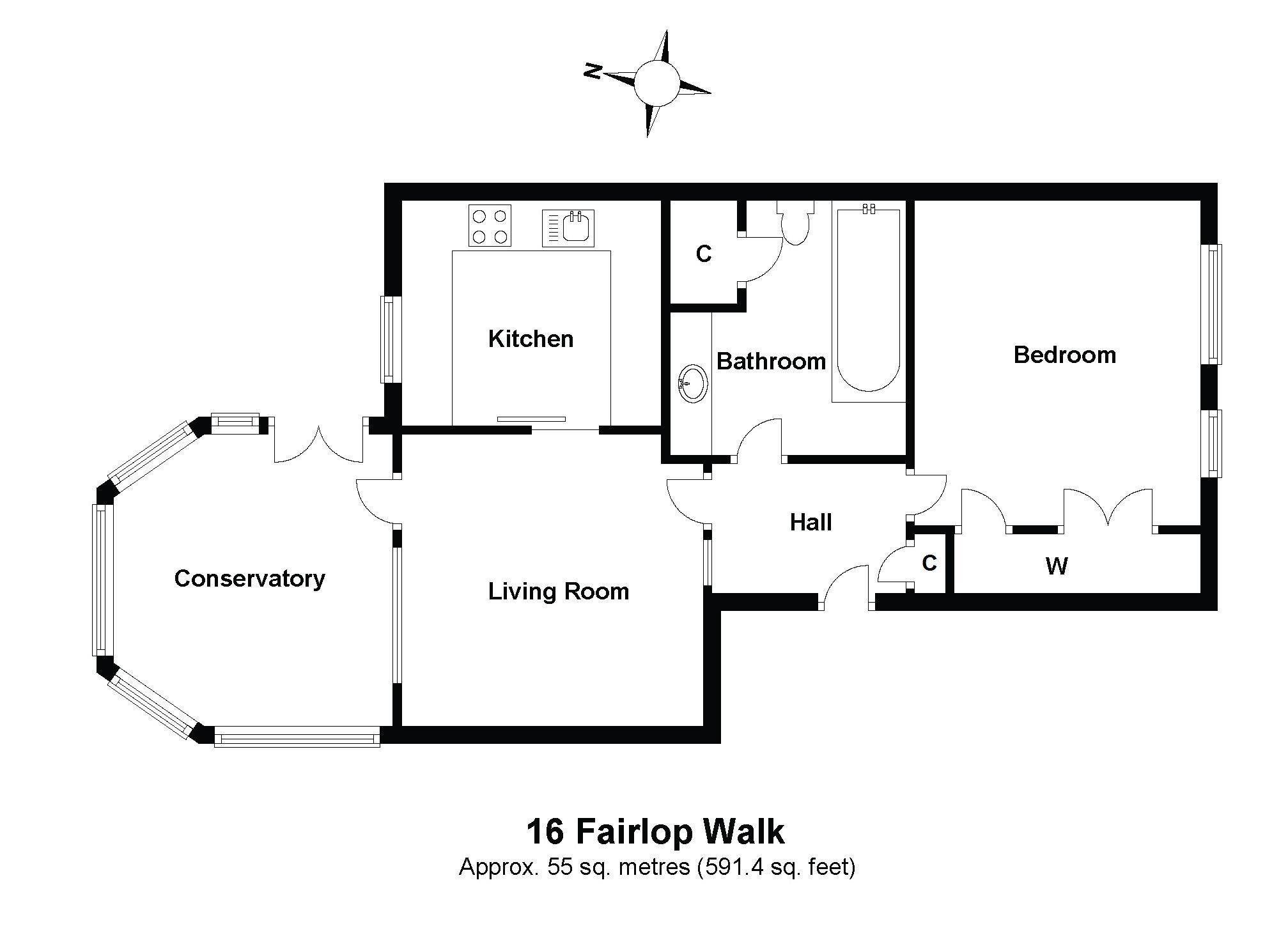 16 Fairlop Walk Floorplan
