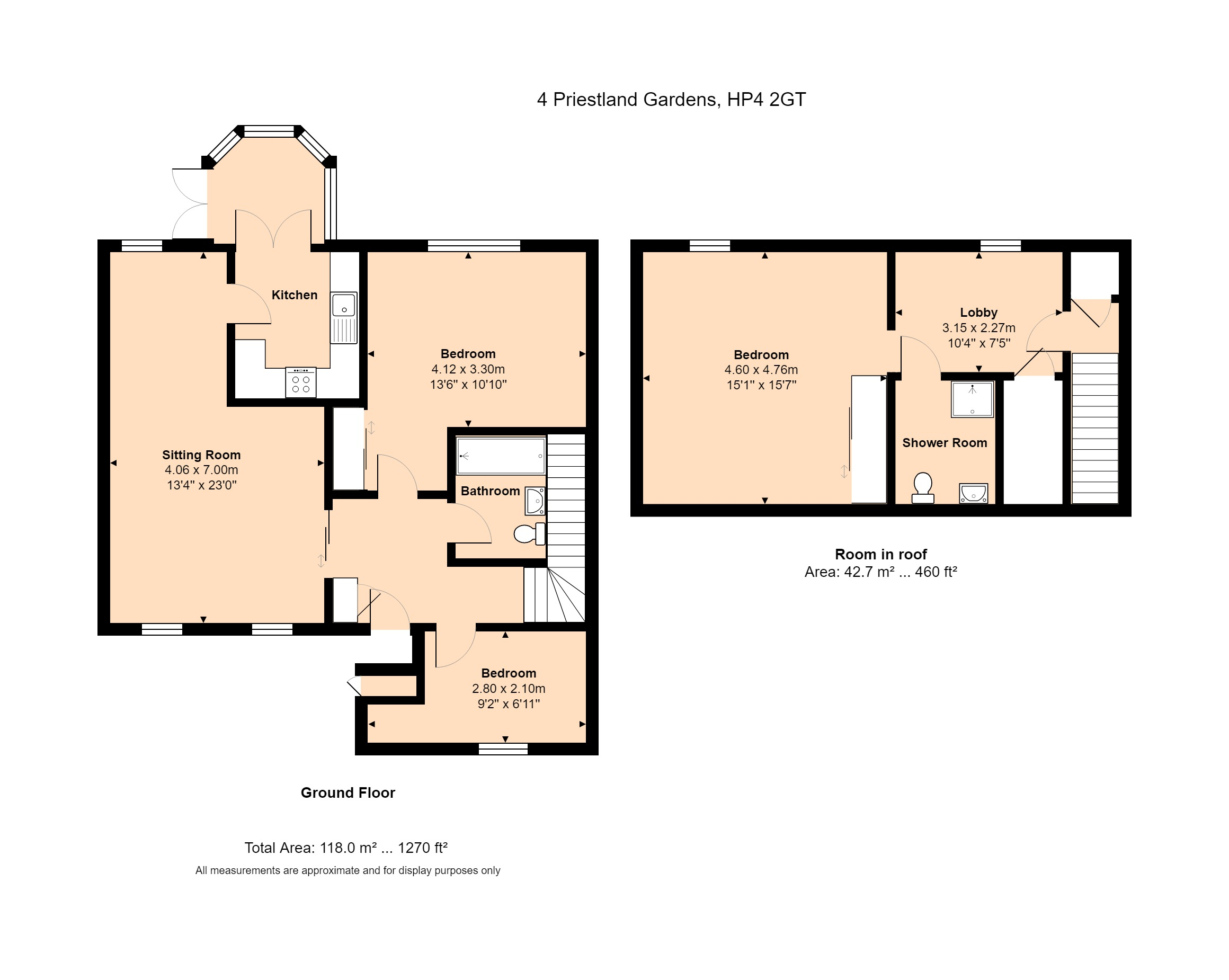 4 Priestland Gardens Floorplan