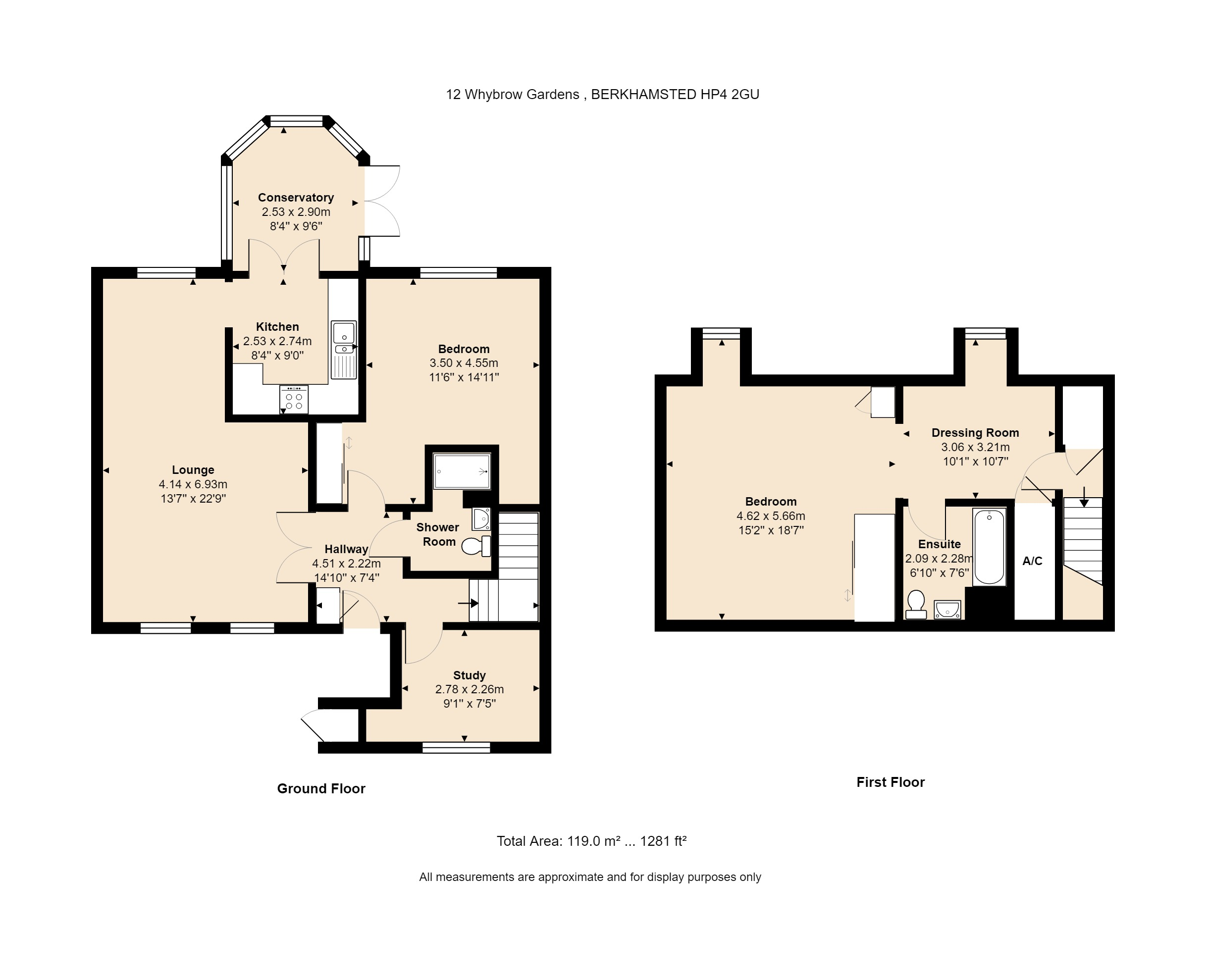 12 Whybrow Gardens Floorplan