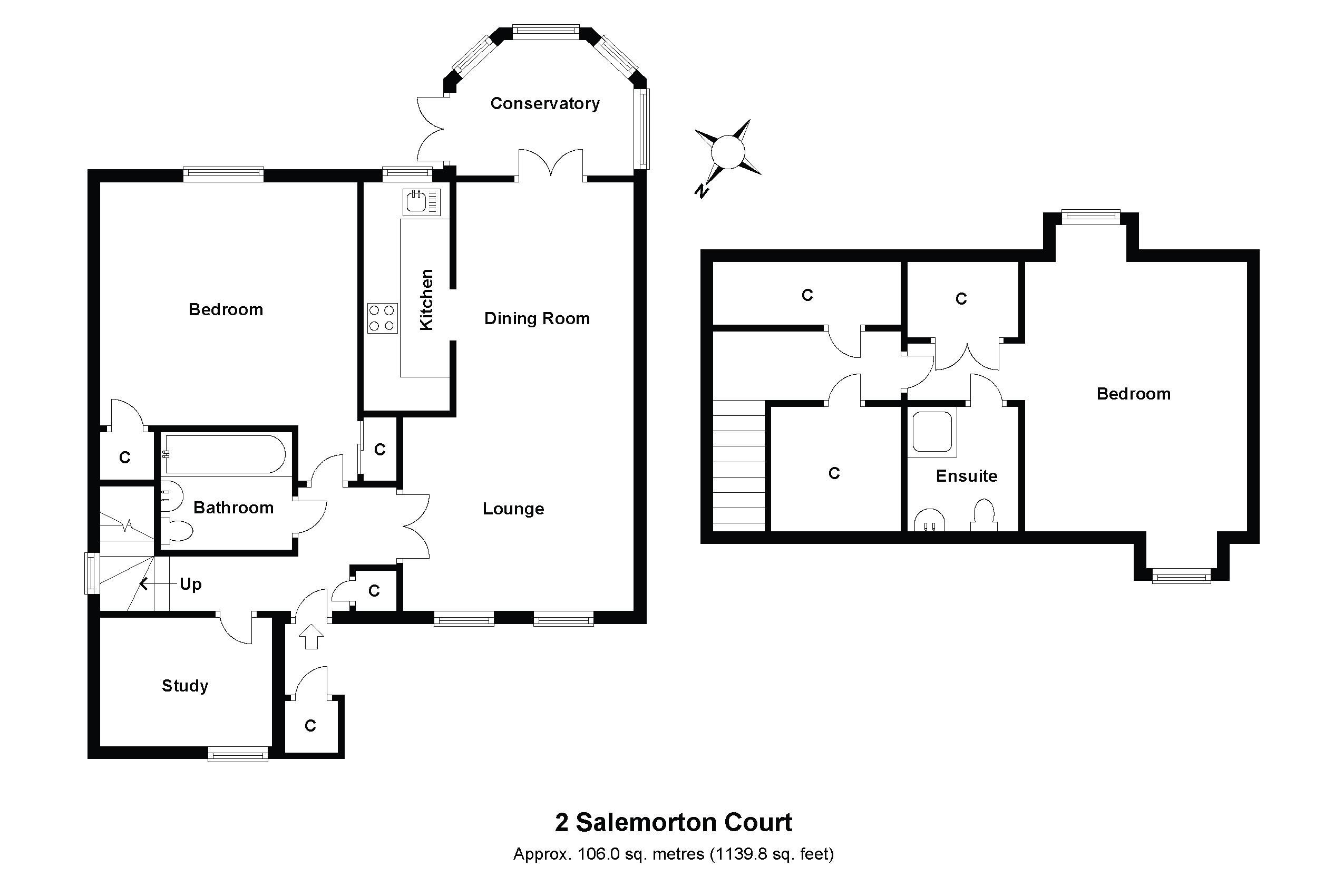 2 Salemorton Court Floorplan