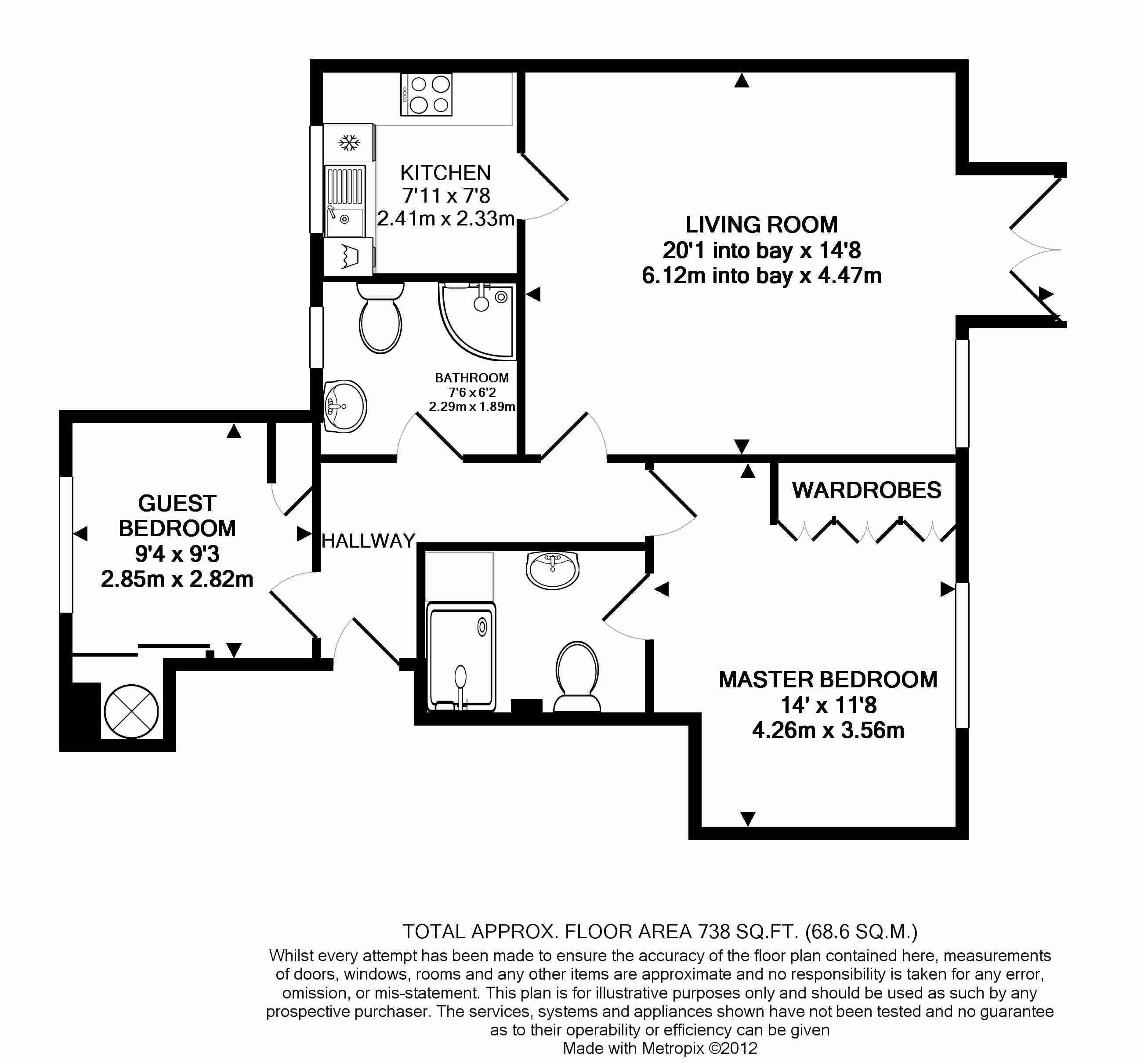 4 Deanery Walk Floorplan